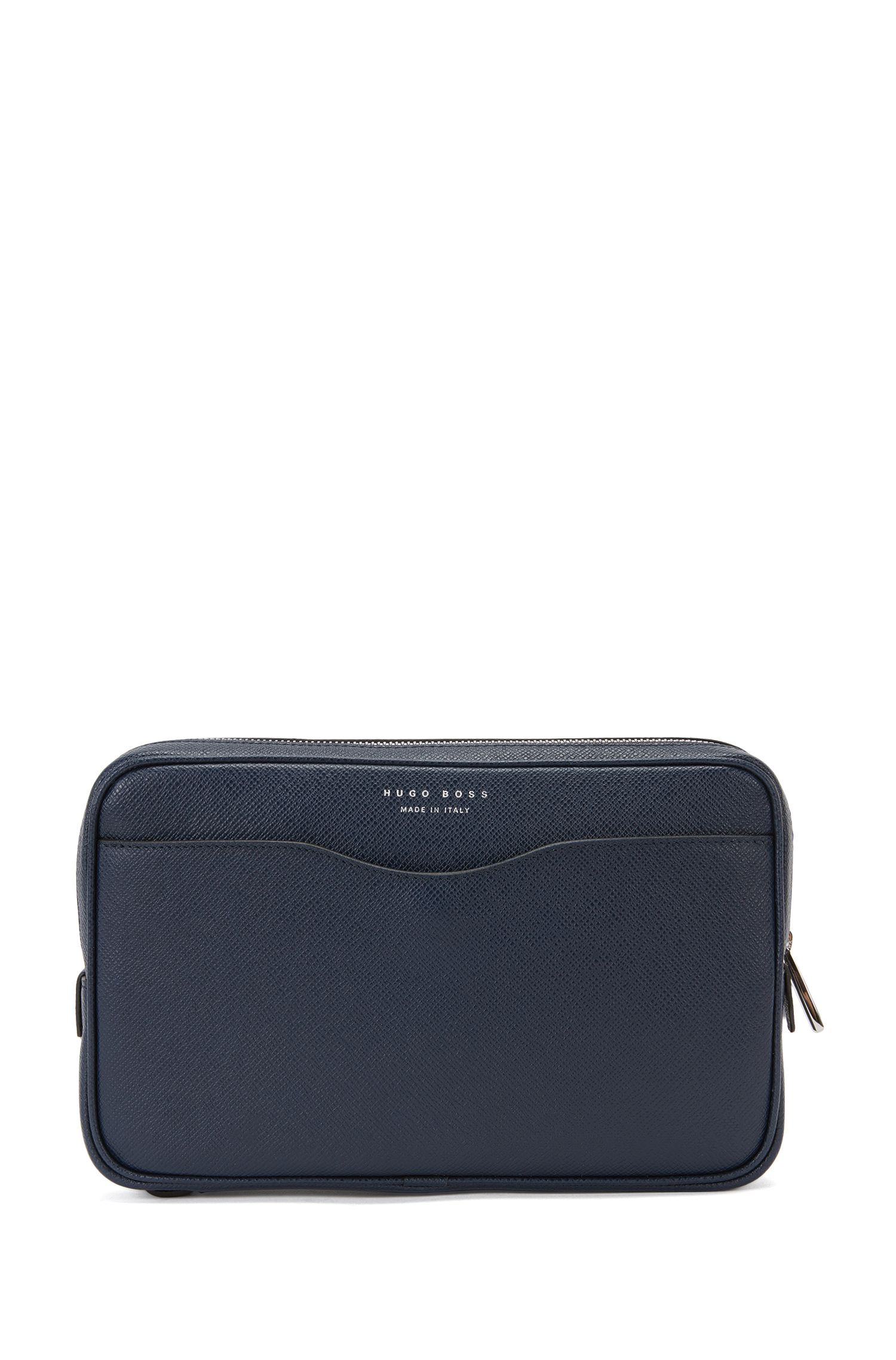 Signature Collection small pouch in palmellato leather by BOSS