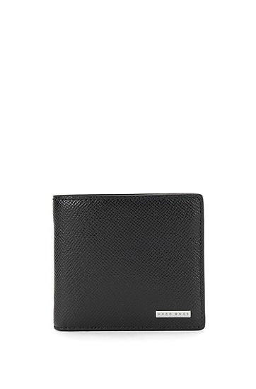 Signature系列palmellato 皮革钱包,  001_黑色