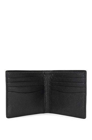 Signature系列palmellato皮革钱包,  001_黑色