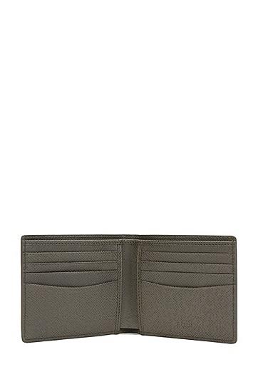Signature系列palmellato 皮革钱包,  025_暗灰色