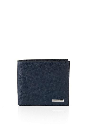 Signature系列palmellato 皮革钱包,  401_暗蓝色