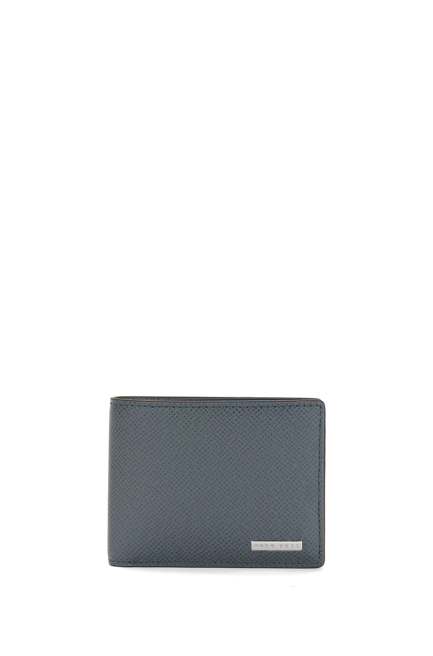 Small-format leather wallet: 'Signature_6 cc'