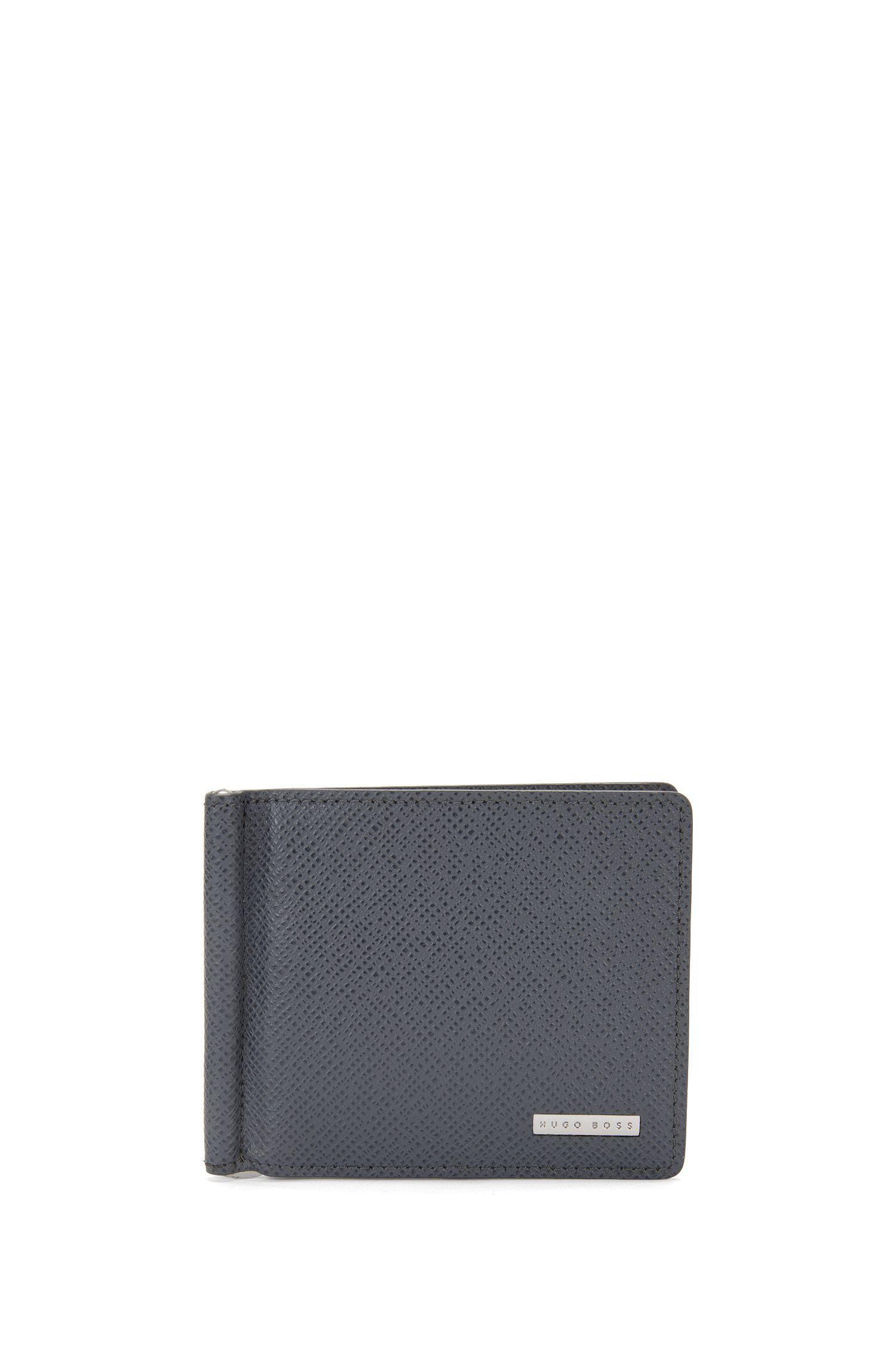 Kartenetui aus Leder mit Geldscheinklammer: 'Signature_6 cc clip'