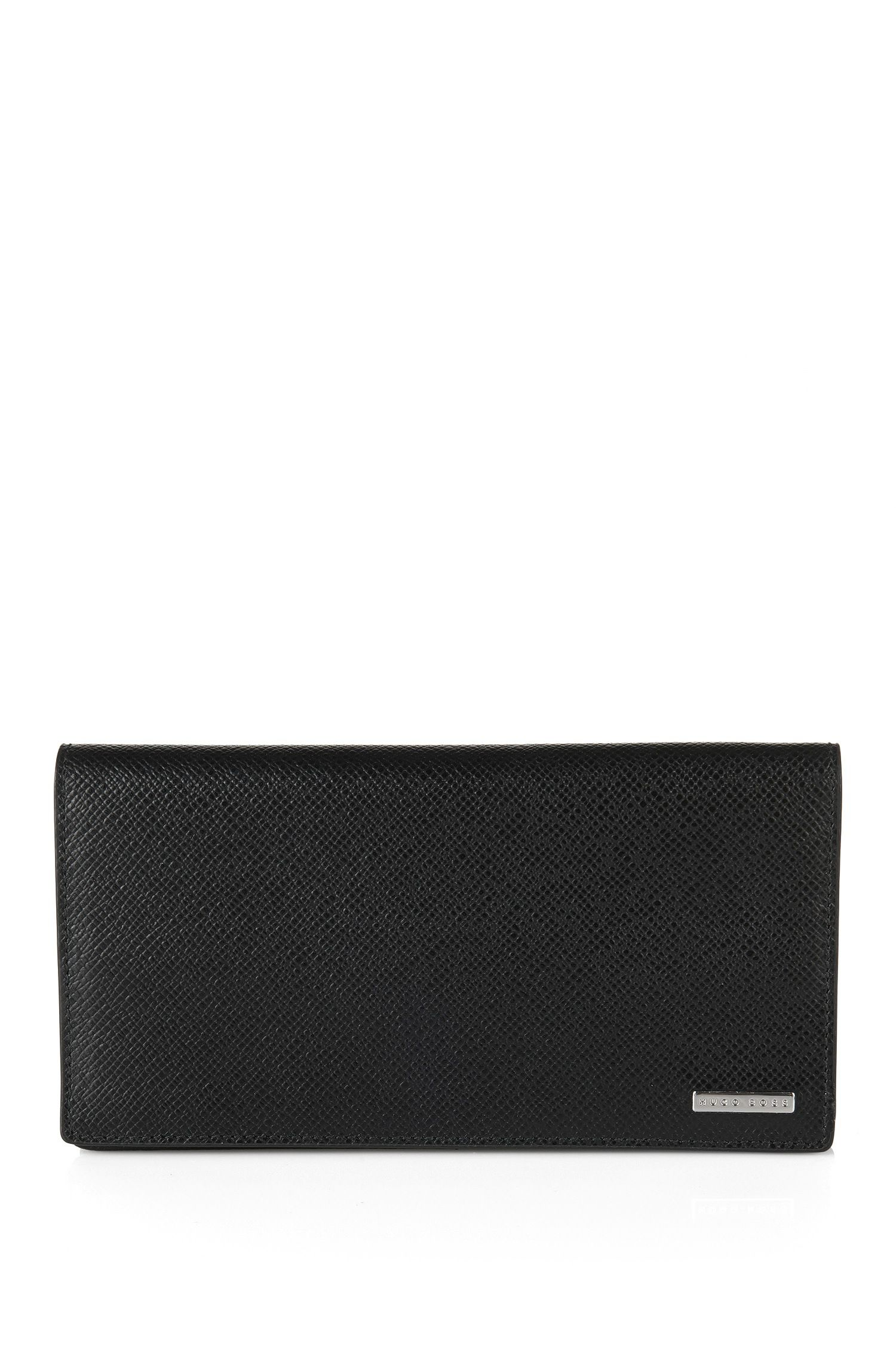 Wallet in embossed leather: 'Signature_Contin'