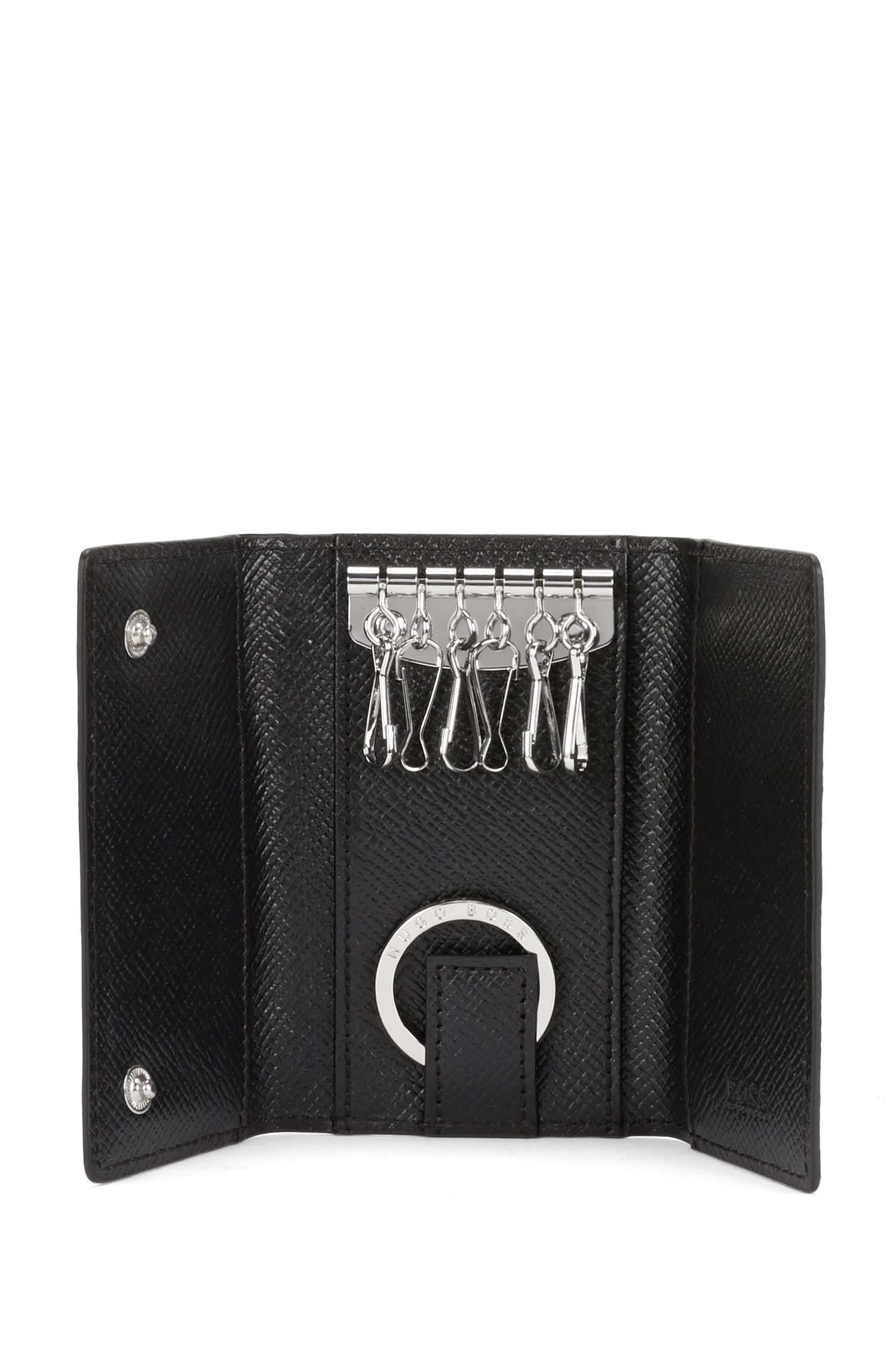 Étui porte-clés en cuir: «Signature_7keys»