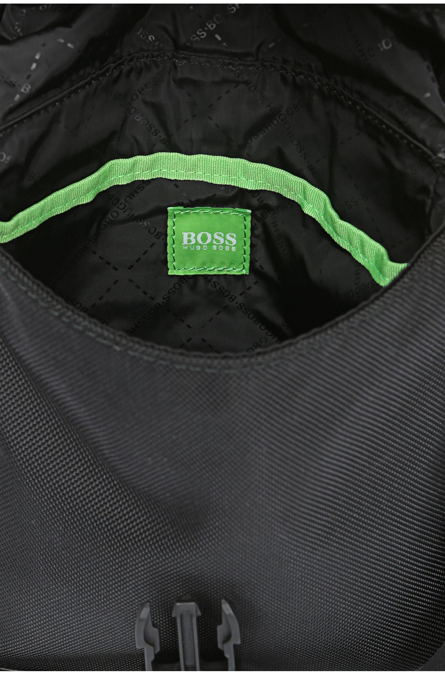 Mini Bag aus Nylon mit Besätzen: ´Techno_Flap env`