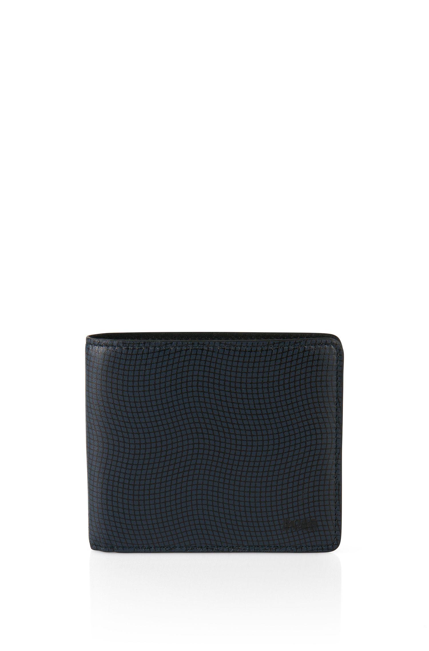 Set aus Geldbörse und Kartenetui aus Leder: 'GbB_8 cc card'