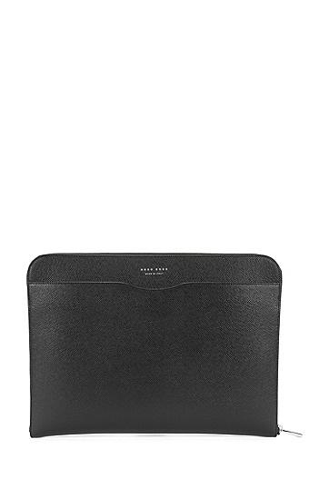 皮质平板电脑保护套:'Signature Portfolio',  001_Black