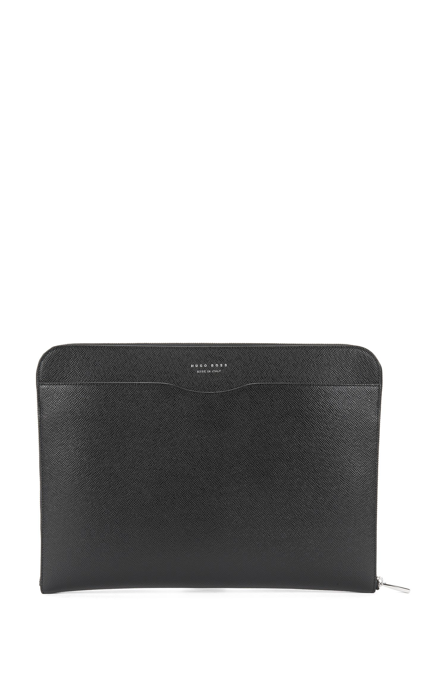 Leather tablet sleeve: 'Signature Portfolio'