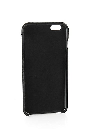 Smartphone-Cover für das iPhone 6 Plus: 'Siganture_ Phone', Schwarz