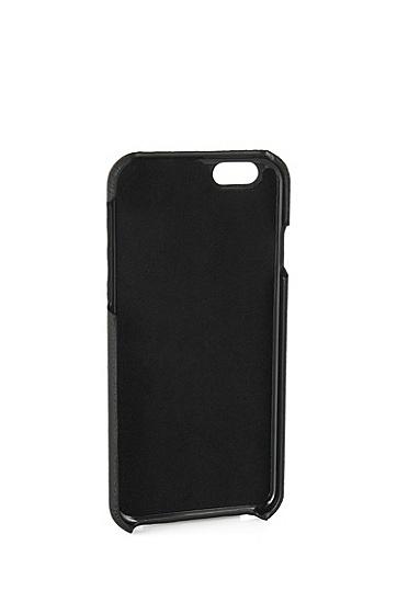 Smartphone-Cover für Das iphone 6: 'Traveller_Phone', Schwarz