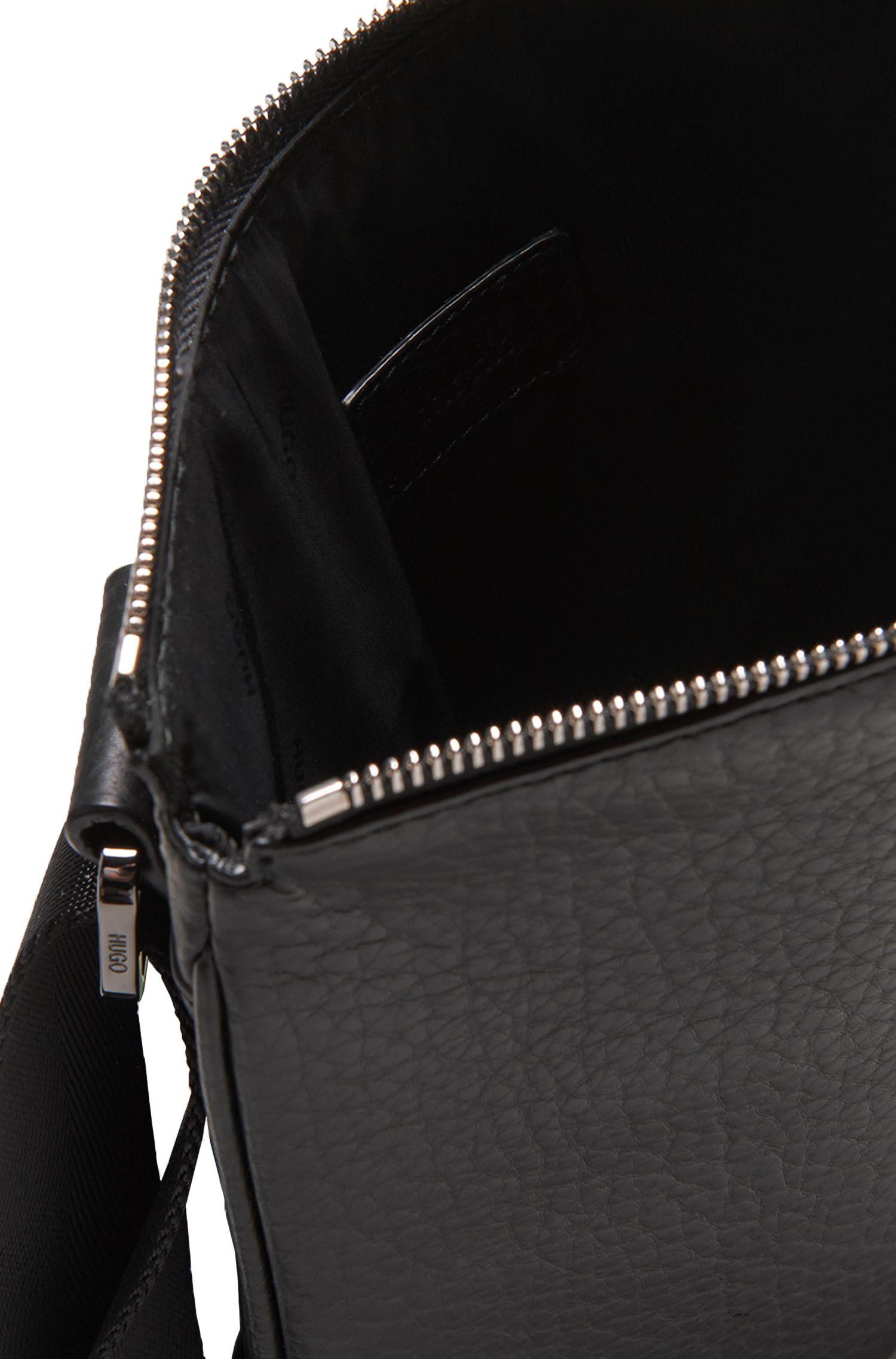 Umhängetasche aus Leder: 'Dollar_S zip env'