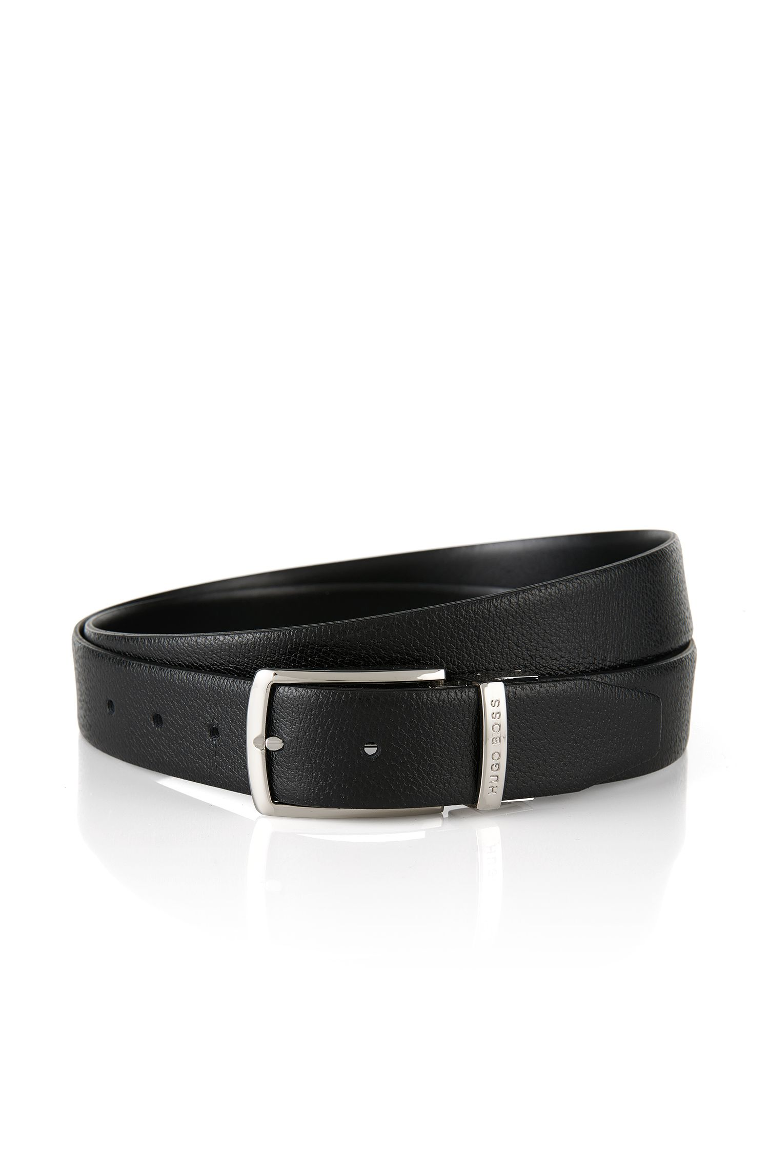 Reversible leather belt: 'Ocing-CN'