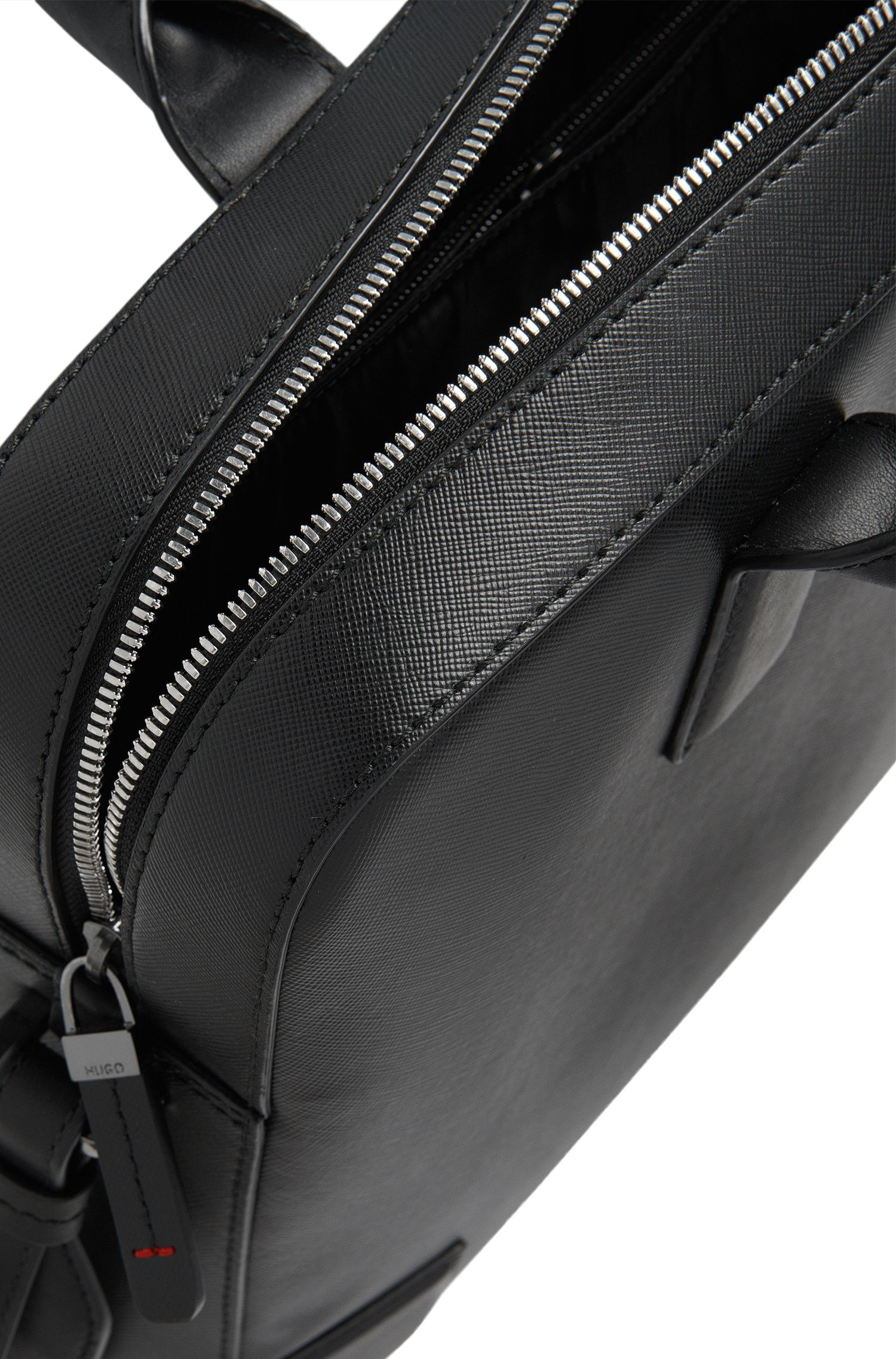 Workbag aus strukturiertem Leder: 'Digital_S doc'