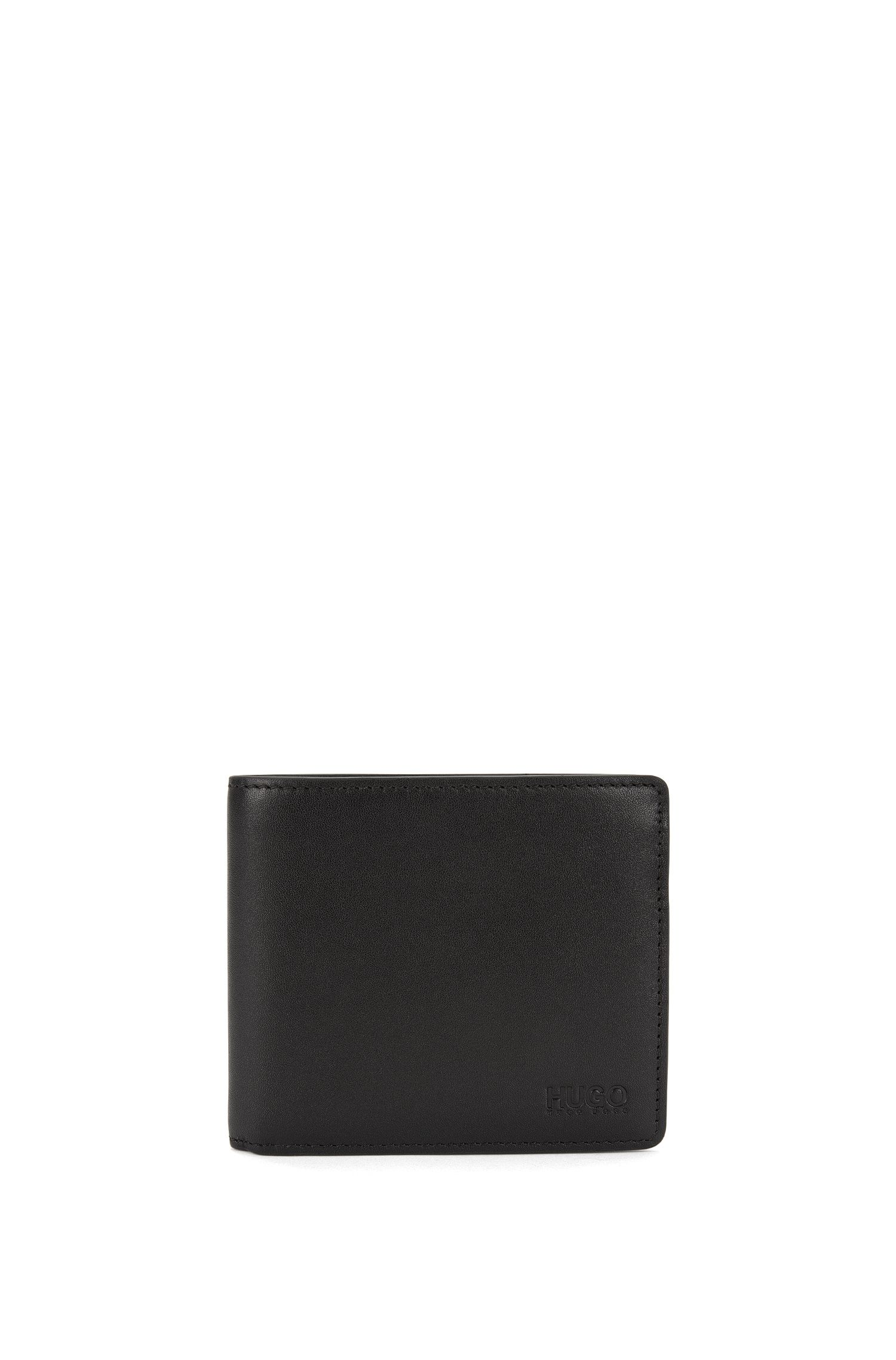 Wallet in finely grained leather: 'Subway_4 cc coin'