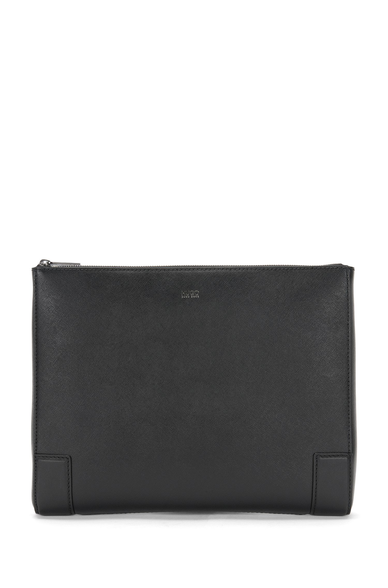 Leather bag for a laptop or tablet: 'Digital_Portfolio'