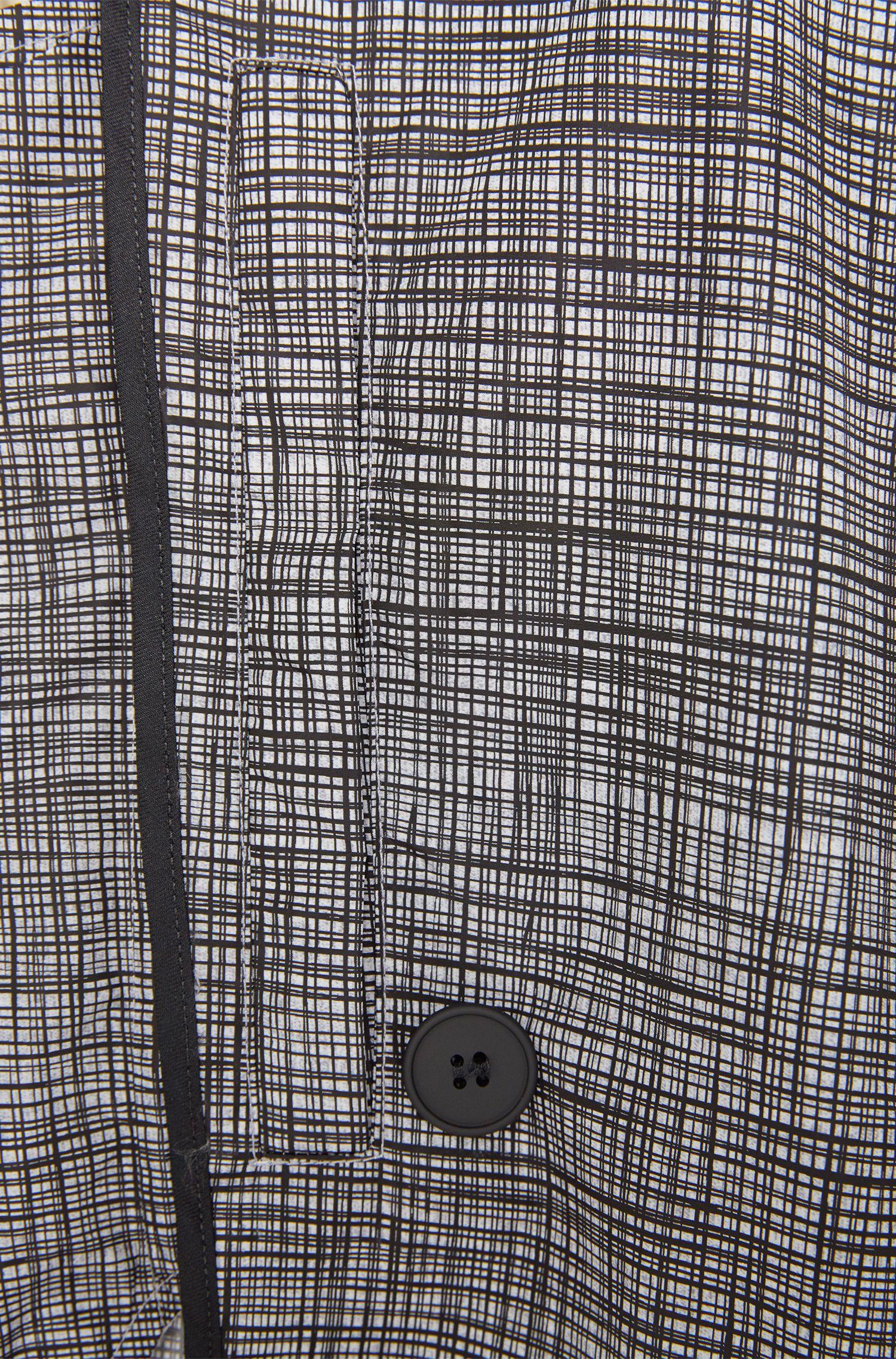 Mantel mit grafischem Dessin: 'Dannie_1'