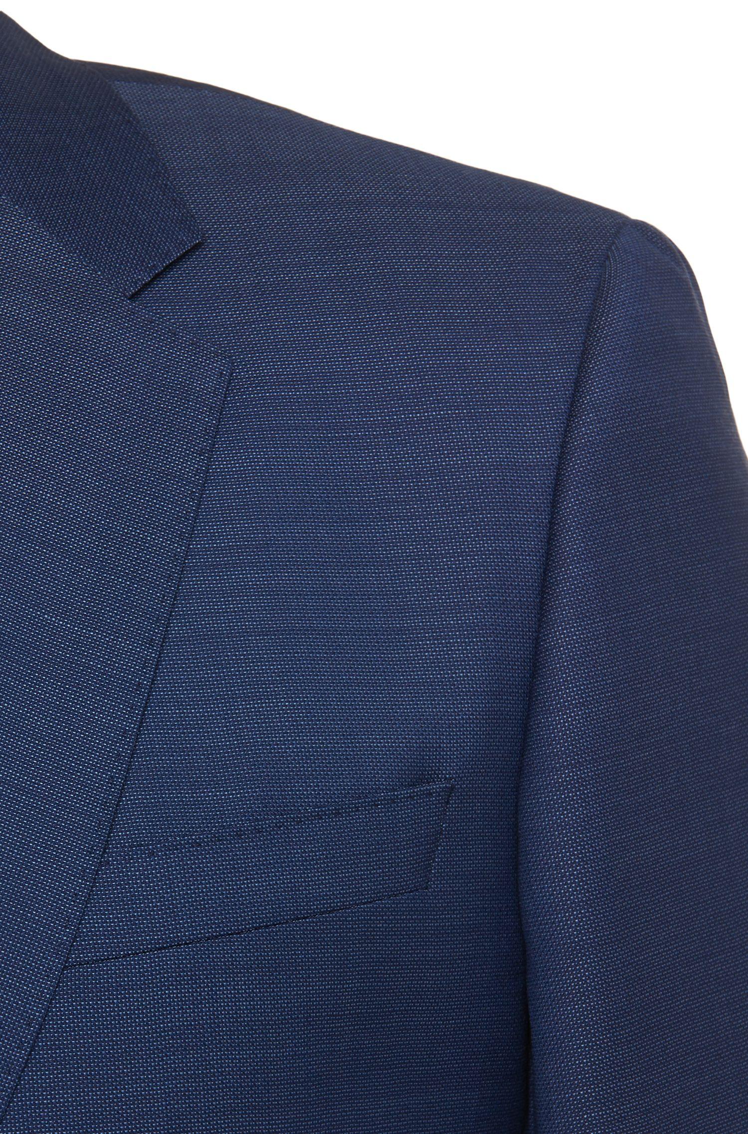 Slim-Fit Anzug aus Schurwolle: 'Huge4/Genius3'