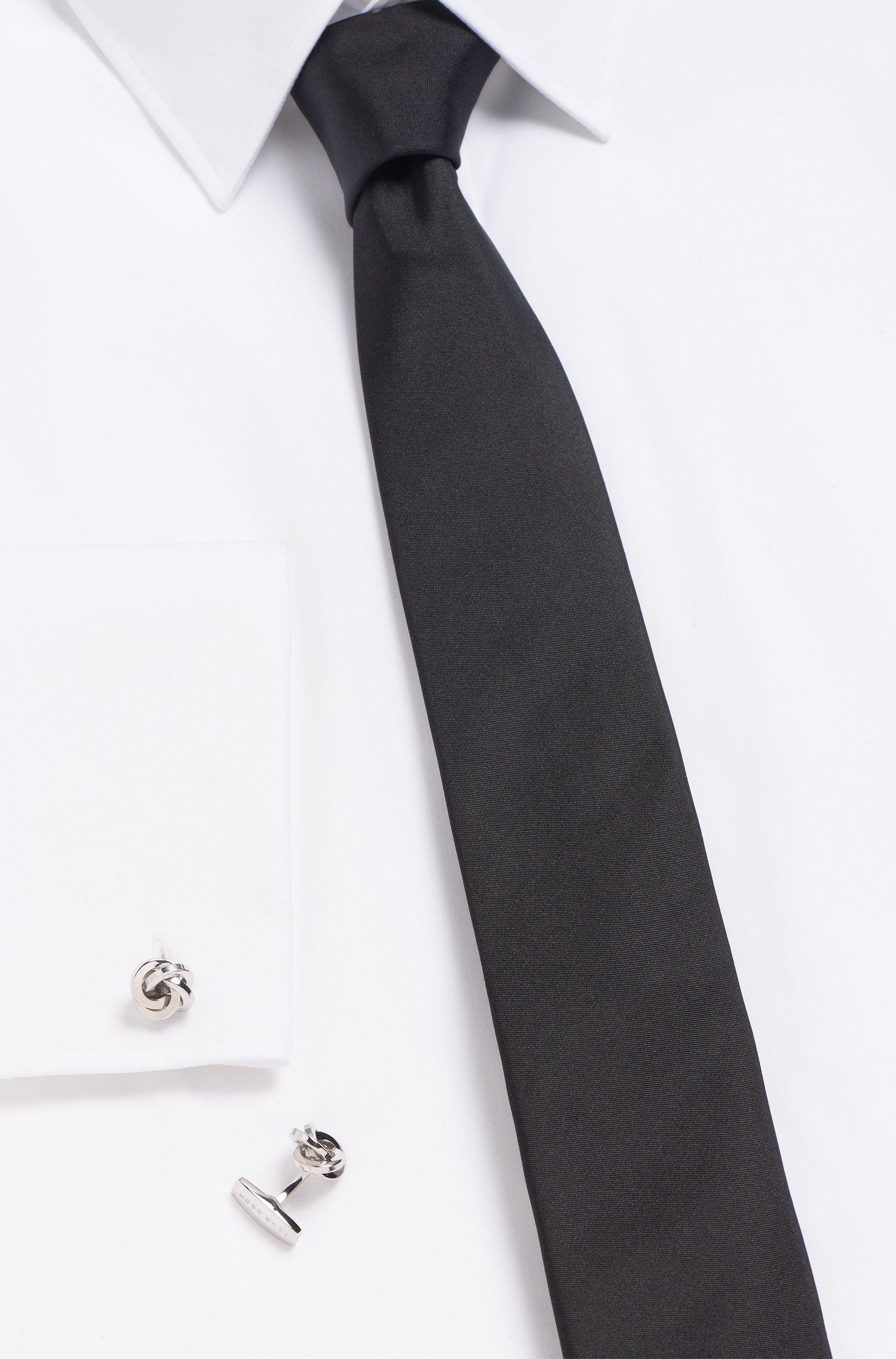 Manschettenknöpfe aus Messing mit Knoten-Detail: 'T-YONN'