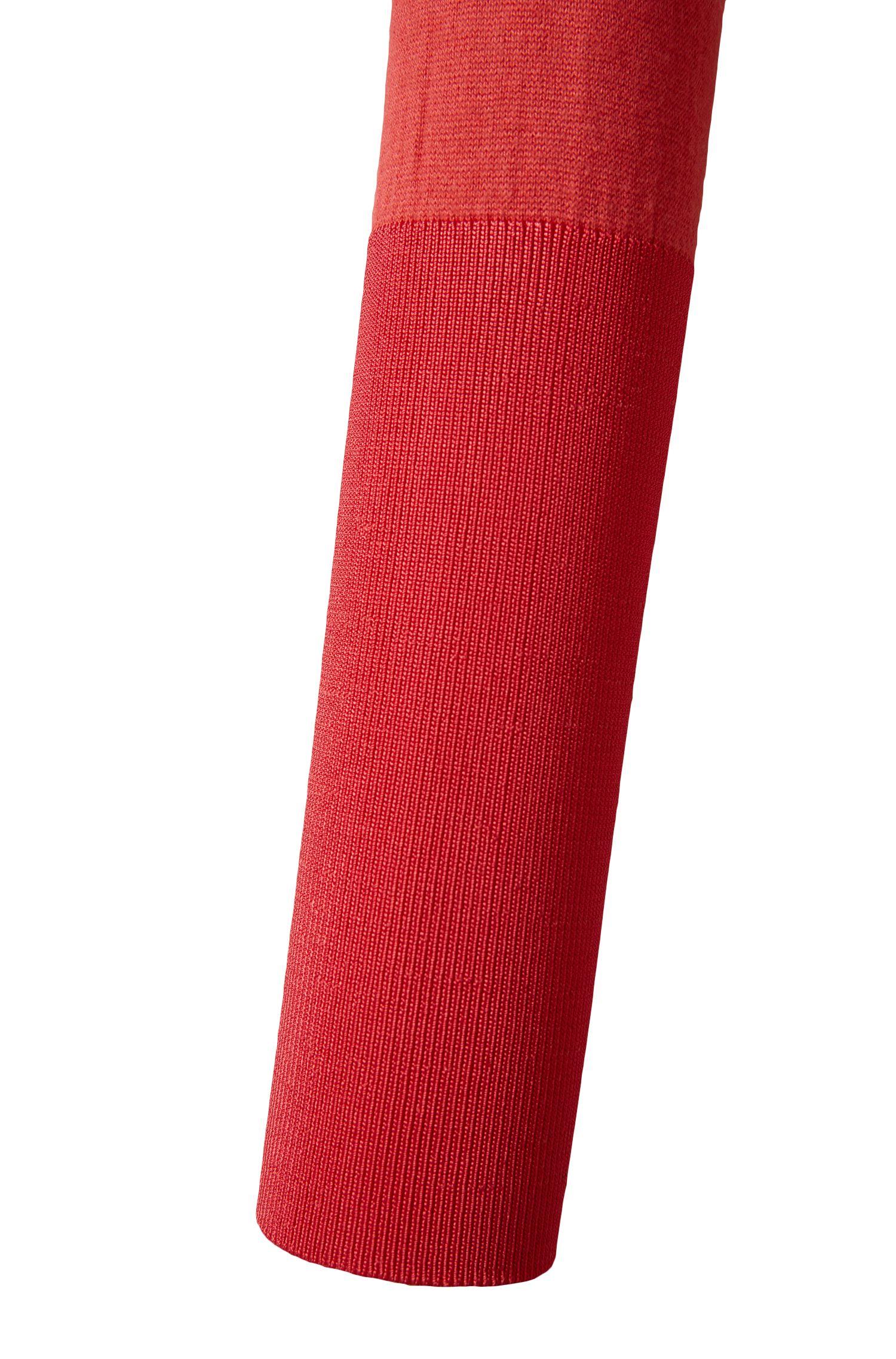 Pull en coton en soie mélangée à du cachemire: «Susannah»