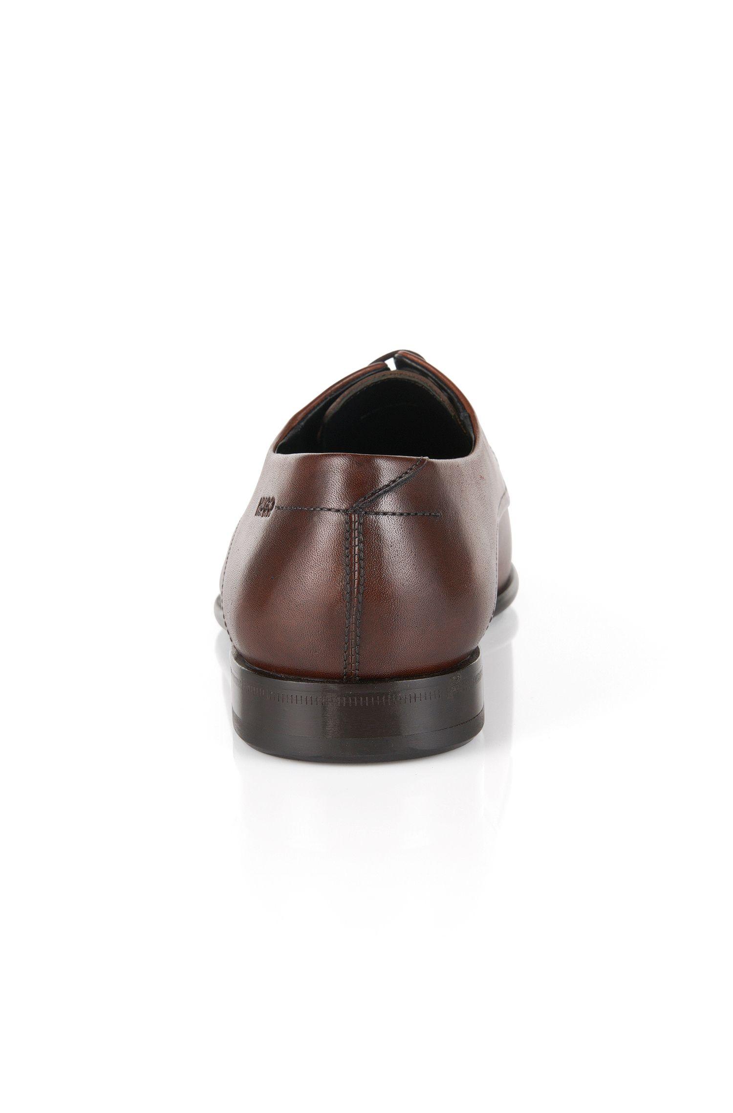 Schnürschuhe aus glänzend poliertem Leder: C-Dresios_LTBU'