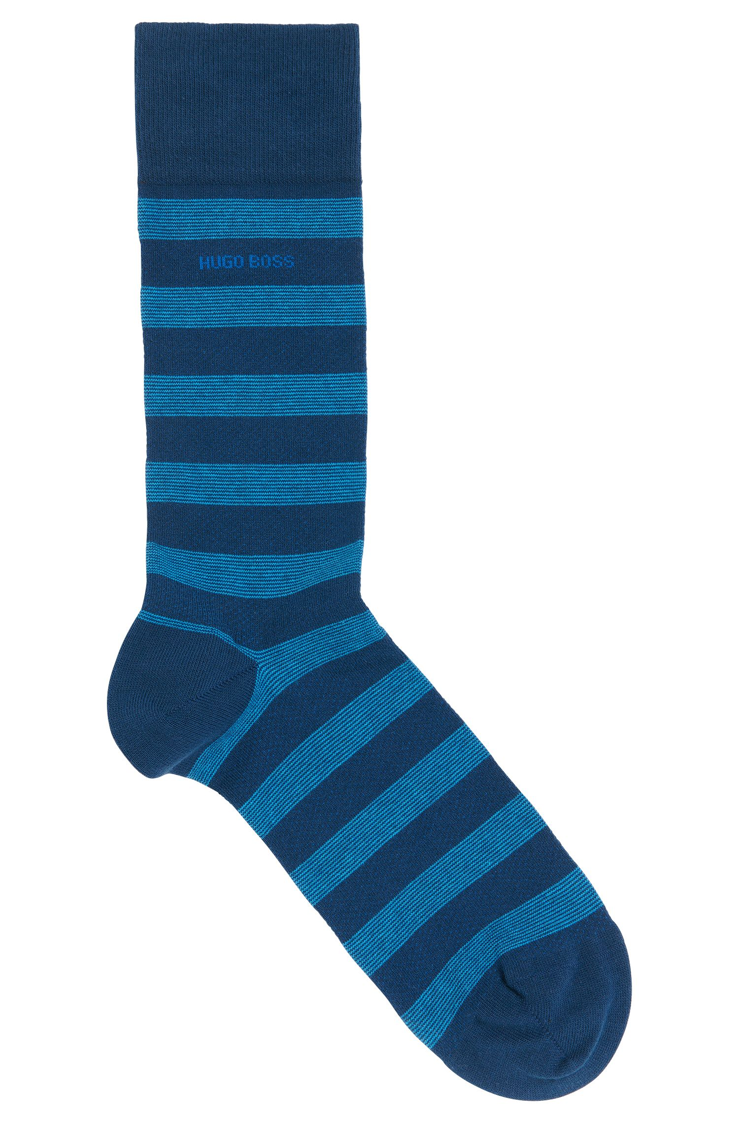 Gestreifte Socken aus Baumwoll-Mix: 'RS Design'