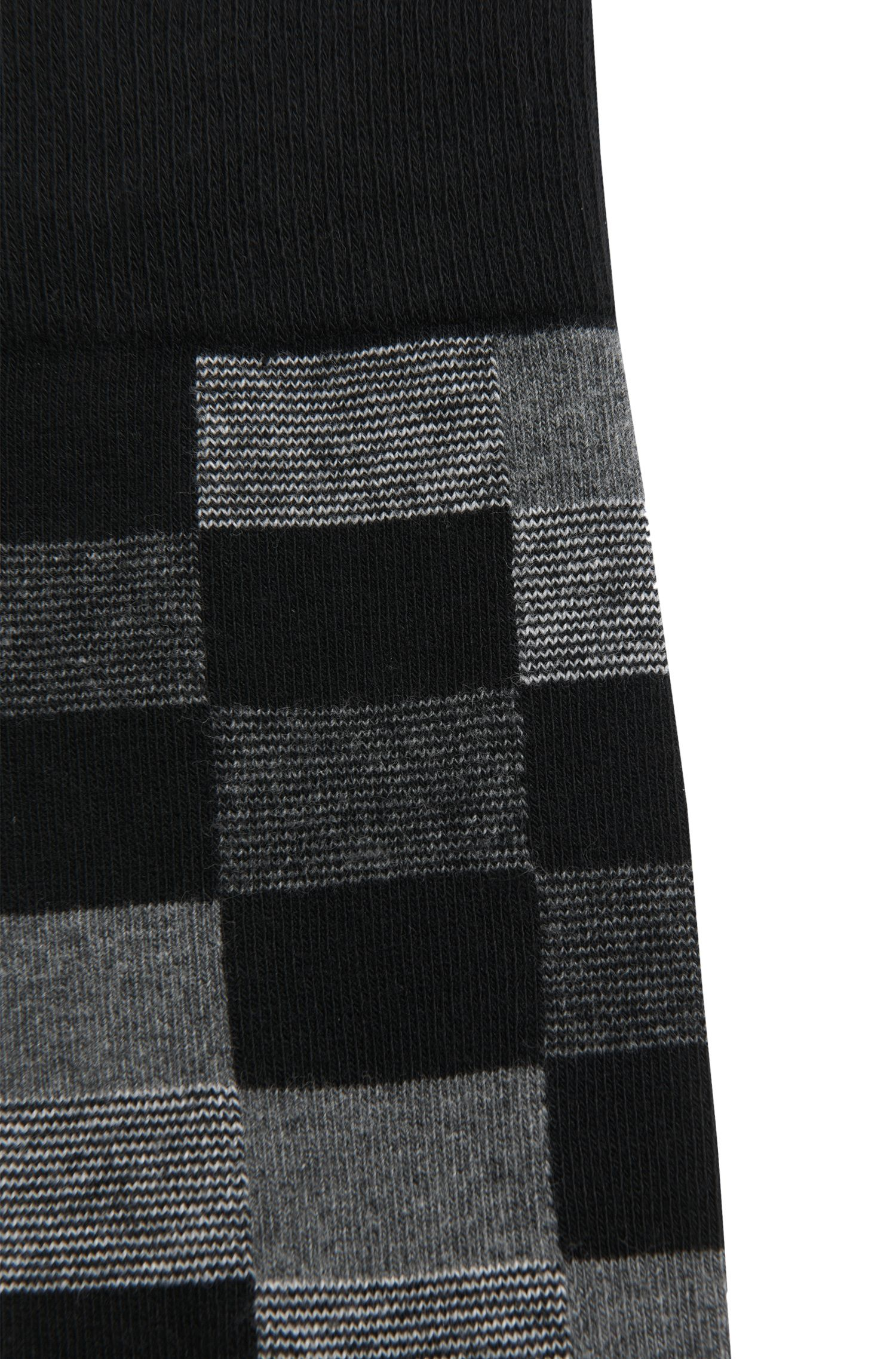 Gemusterte Socken aus Baumwoll-Mix: 'RS Design'