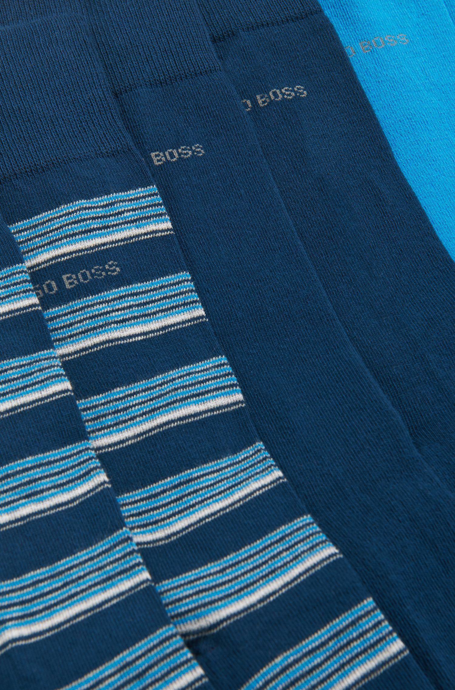 Chaussettes en coton mélangé en lot de3: «S3PDesignBox»