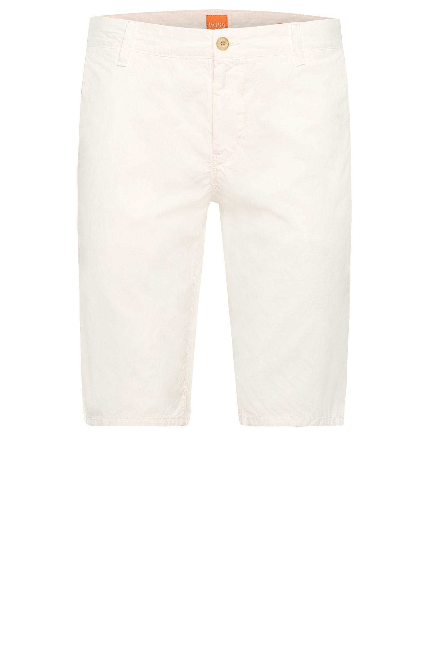 Pantaloncini corti slim fit in puro cotone: 'Sairy-Shorts-D-EOSP'