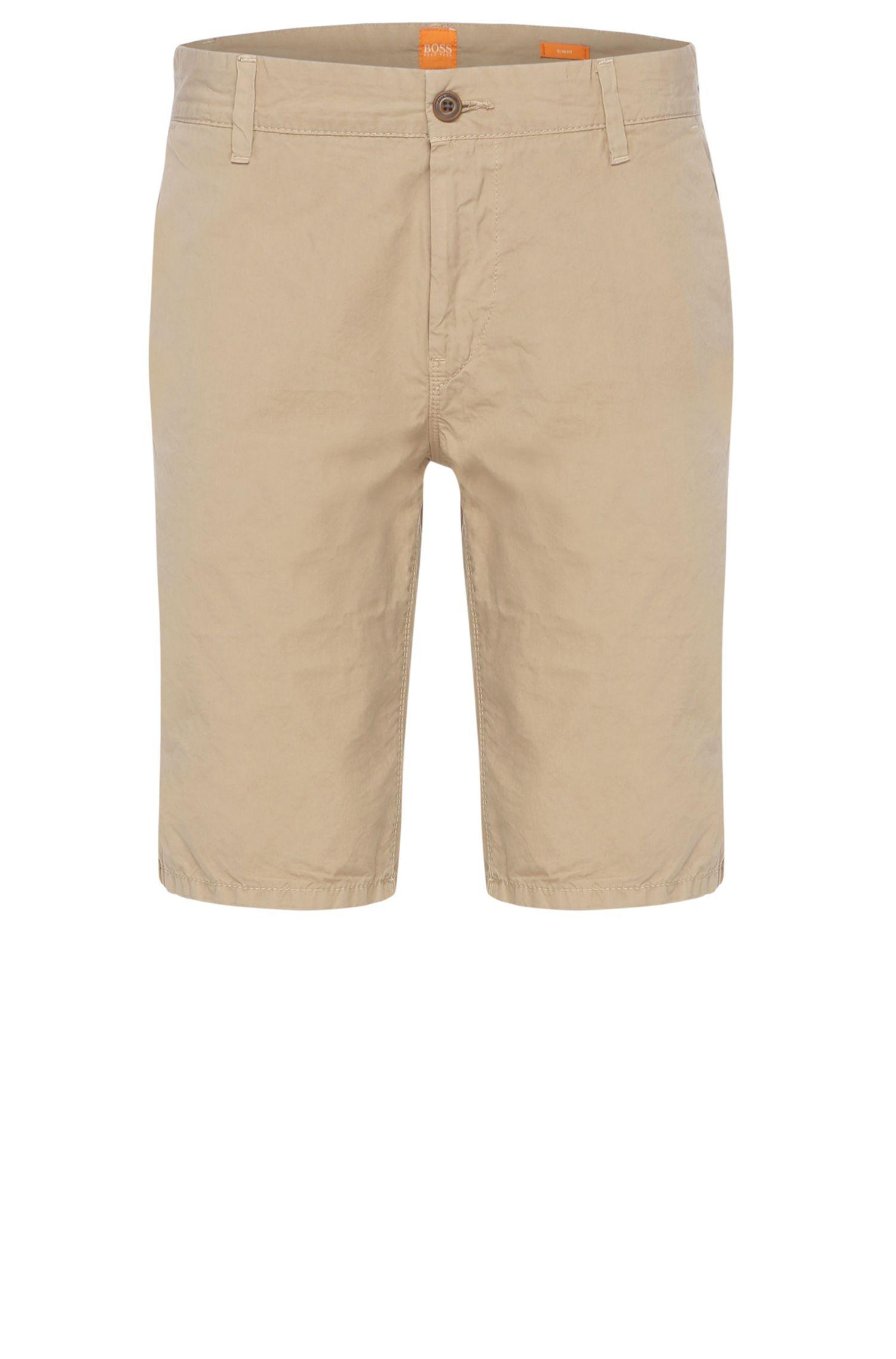 Slim-Fit Shorts aus reiner Baumwolle: ´Sairy-Shorts-D-EOSP`