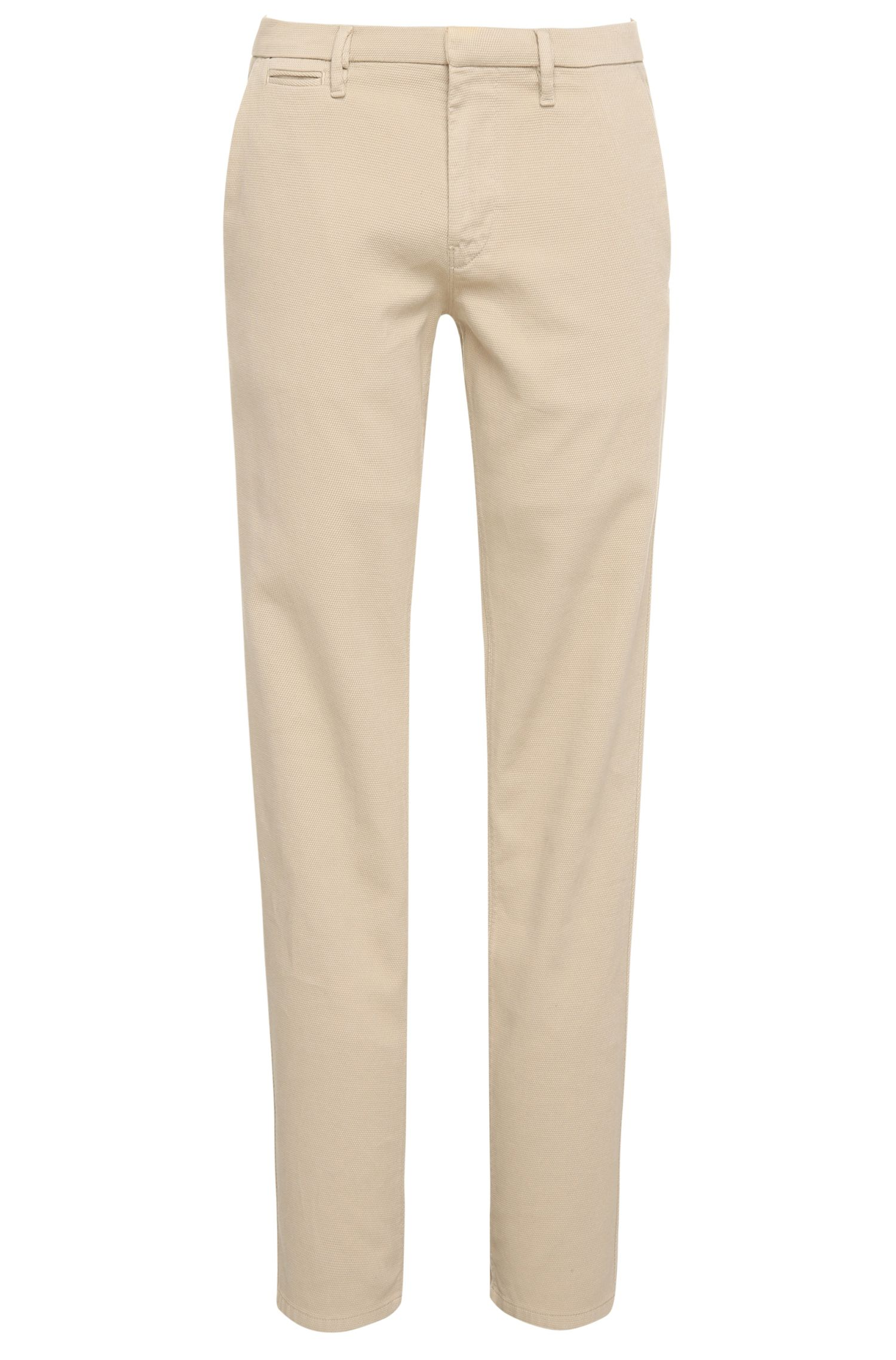 Chino Slim Fit en coton extensible : « Schino-Slim3-D »