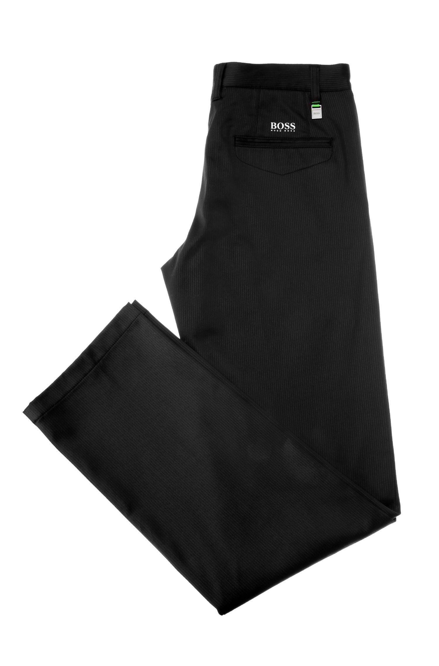 Slim-Fit Hose aus Material-Mix mit Baumwolle und Elasthan: ´Hakan 7`