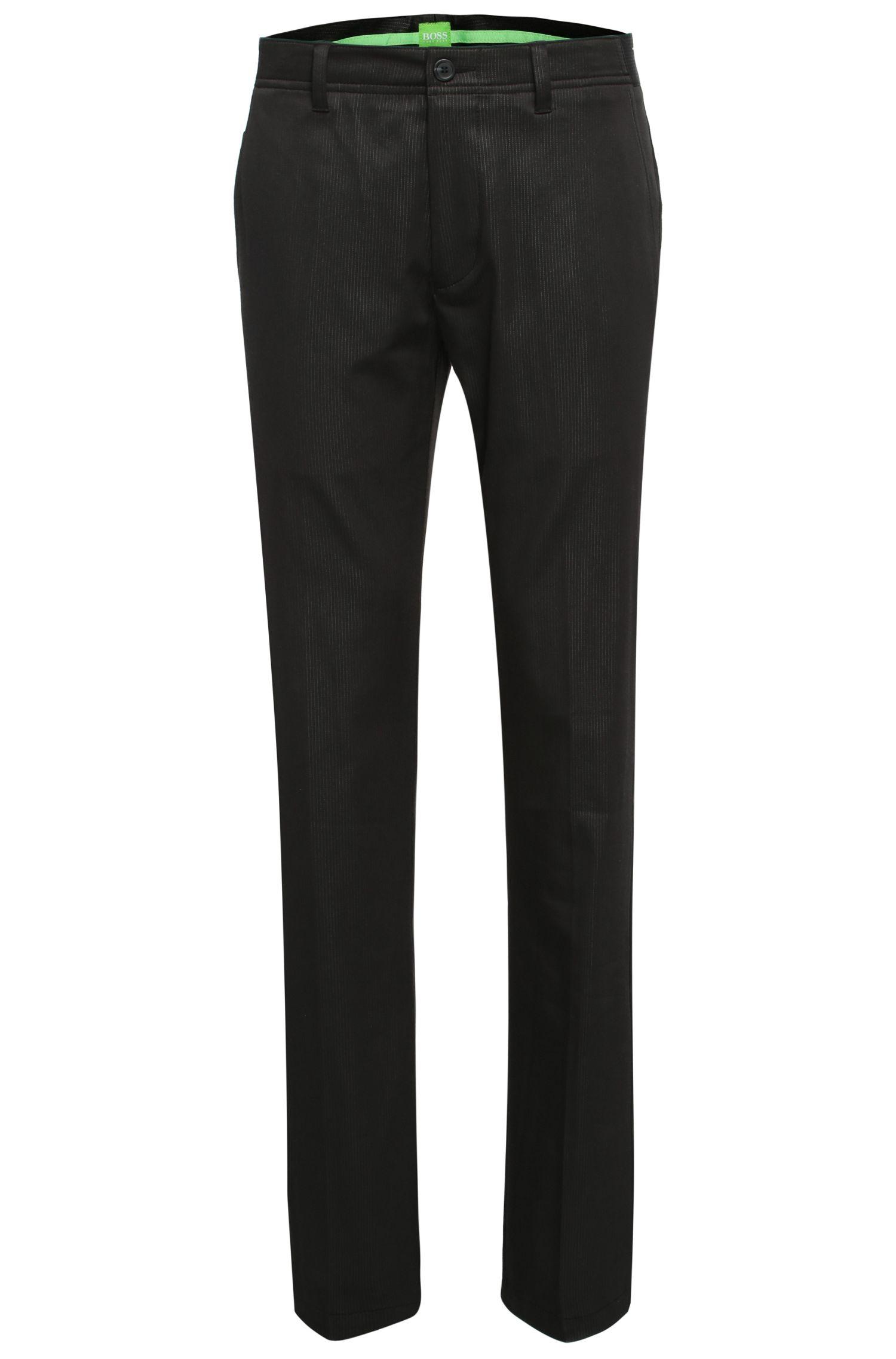 Pantaloni slim fit in materiali misti con cotone ed elastan: 'Hakan 7'
