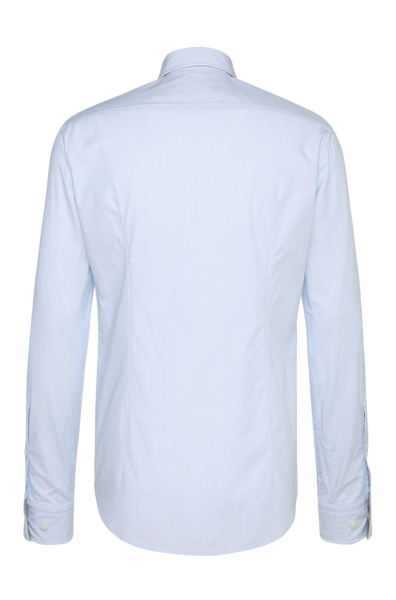 Regular-Fit Hemd aus texturierter Baumwolle: ´C-Buster`