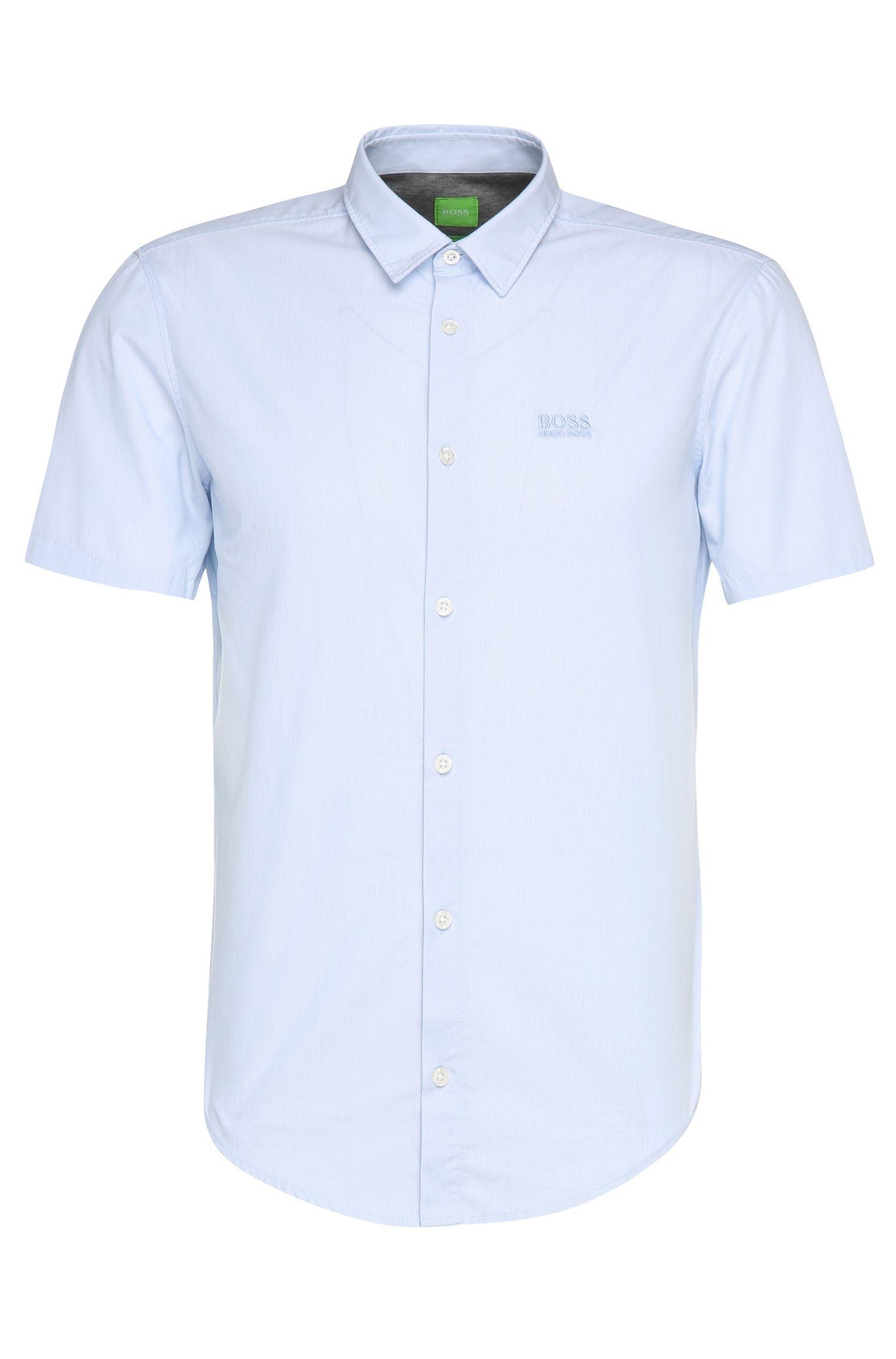 Chemise à manches courtes Regular Fit en coton: «C-Busterino»