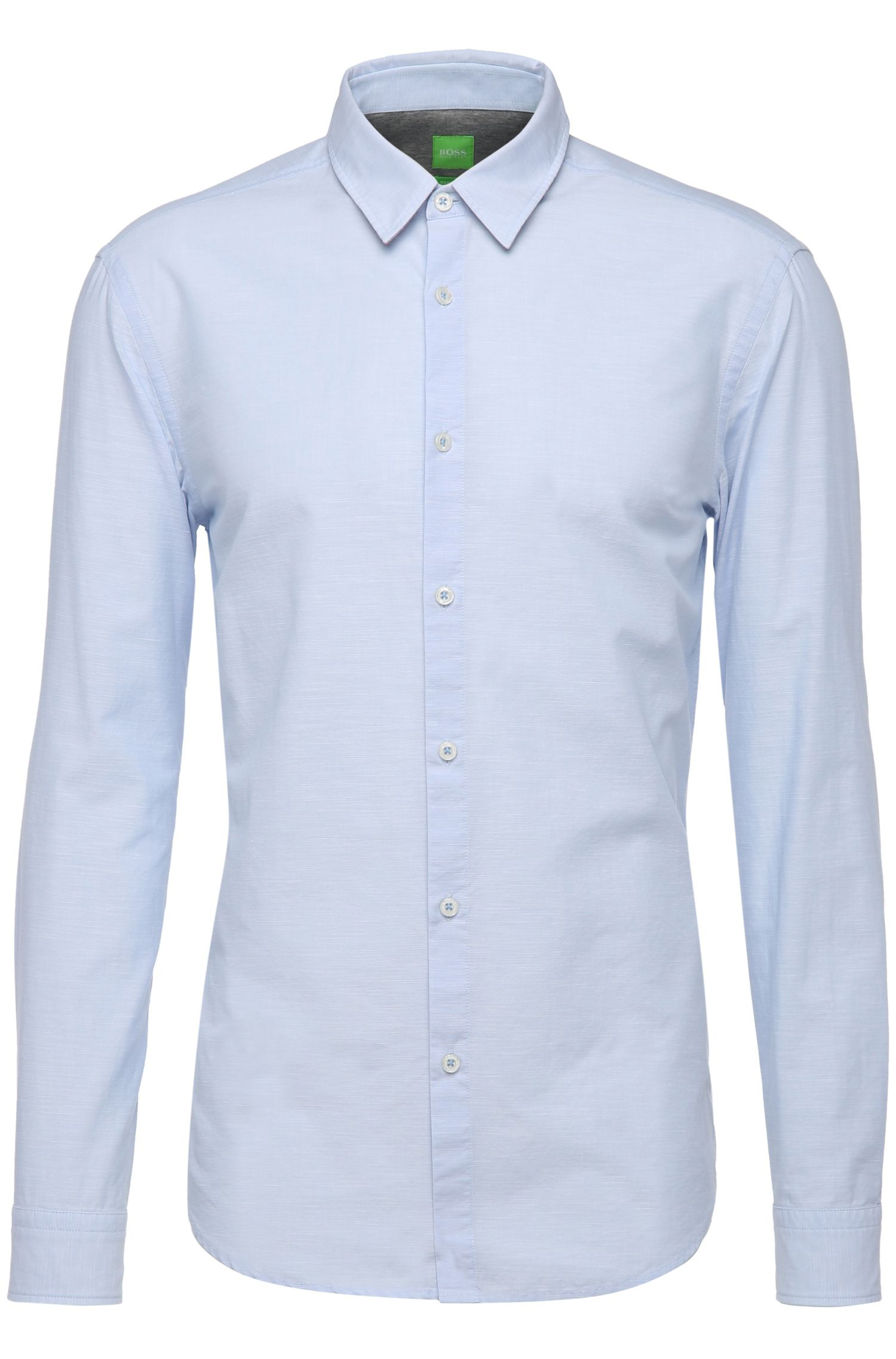 Camicia regular fit in cotone: 'C-Briar'