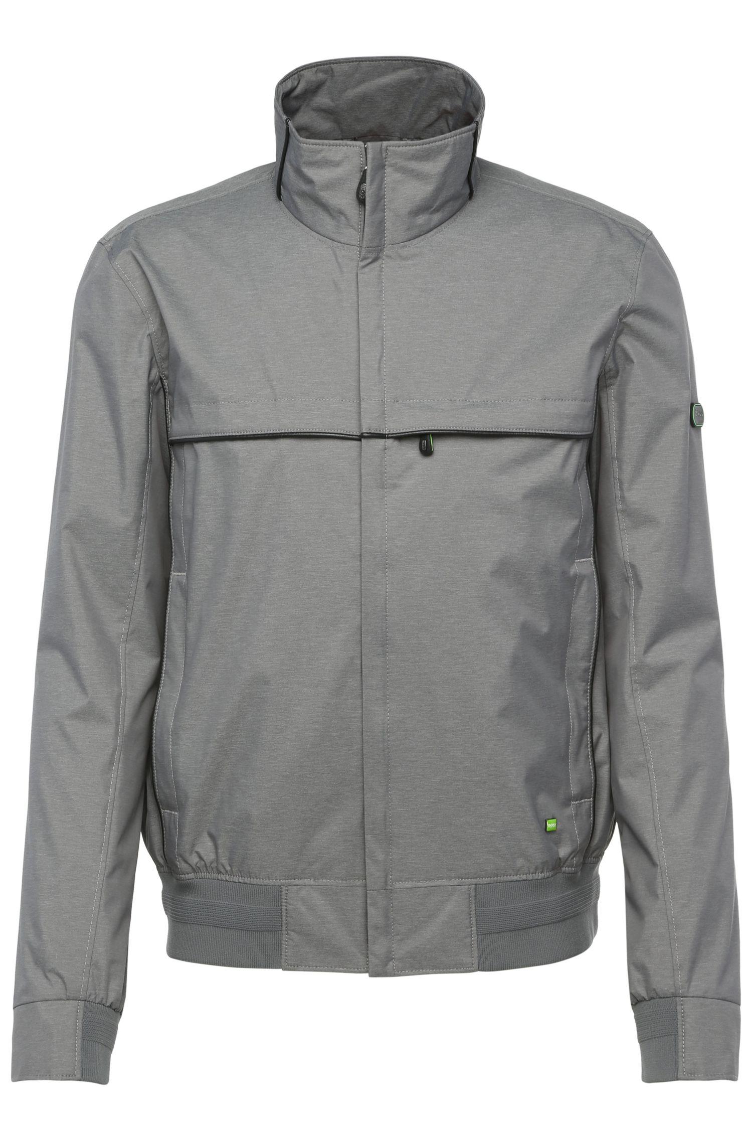 Comfort-Fit Bomber-Jacke aus meliertem Textil: ´Jadon20`