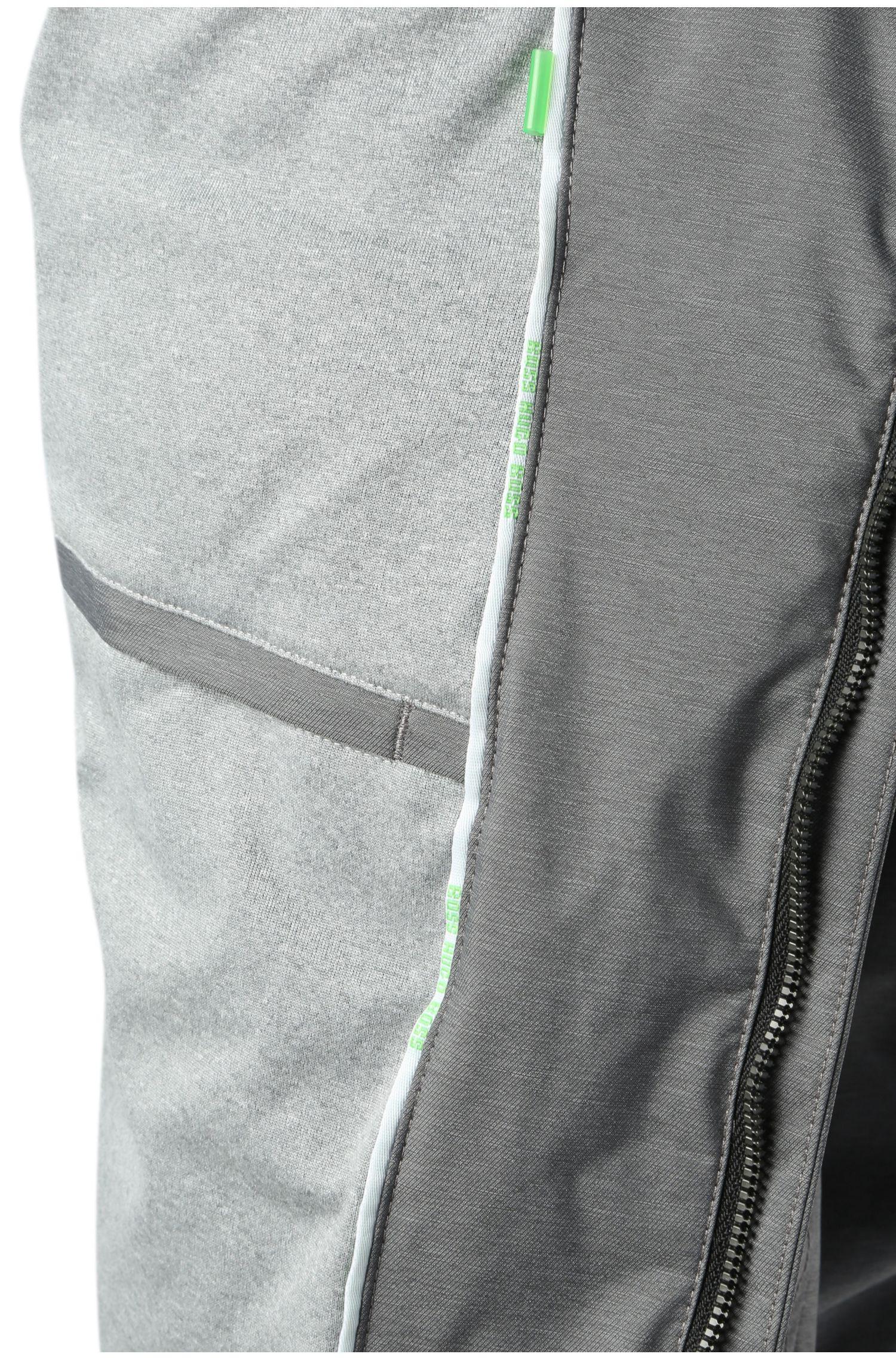 Bomber Comfort Fit en tissu chiné: «Jadon20»