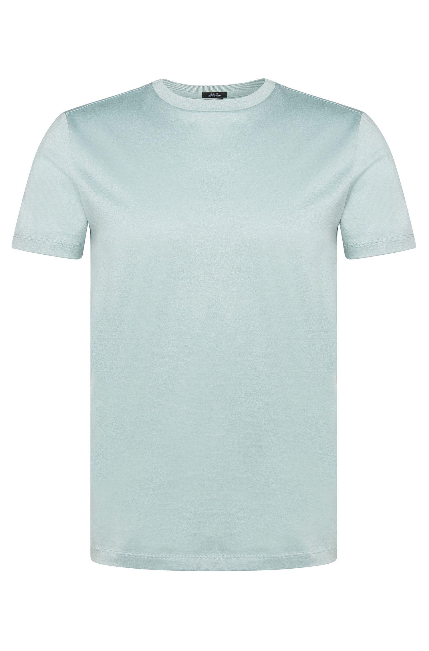 Slim-Fit T-Shirt aus merzerisierter Baumwolle: 'Tessler 18'