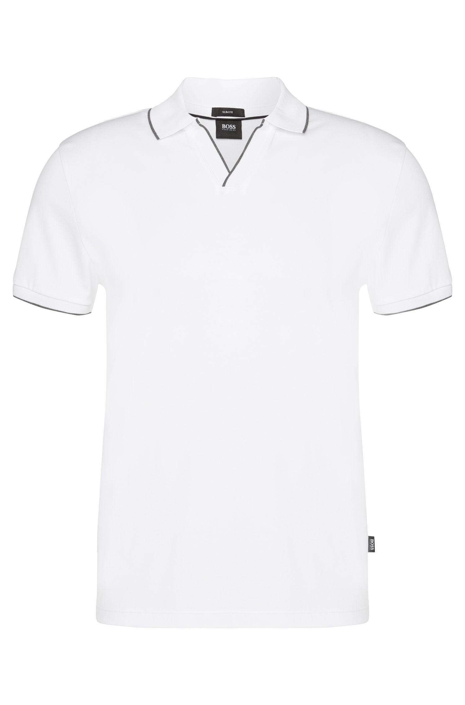 Slim-Fit Poloshirt aus Baumwolle: 'Phillipson 02'