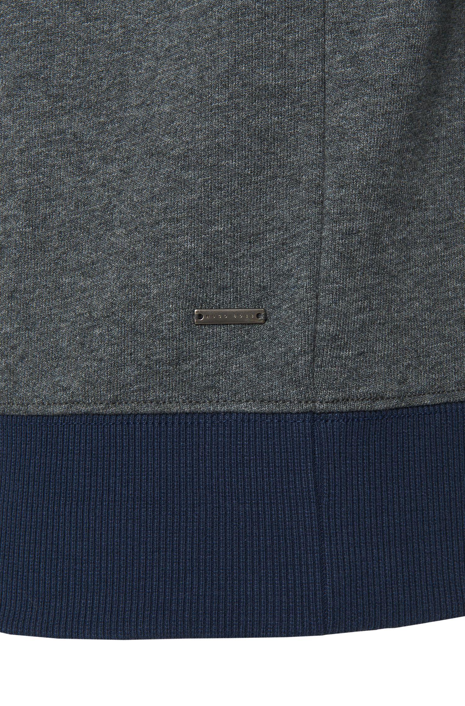 Slim-Fit Sweatshirt aus reiner Baumwolle: 'Skubic 06'