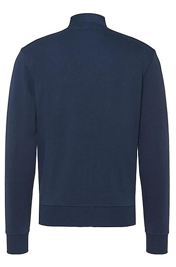 Regular-Fit Sweatshirt aus Baumwolle: 'Sommers 07', Dunkelblau