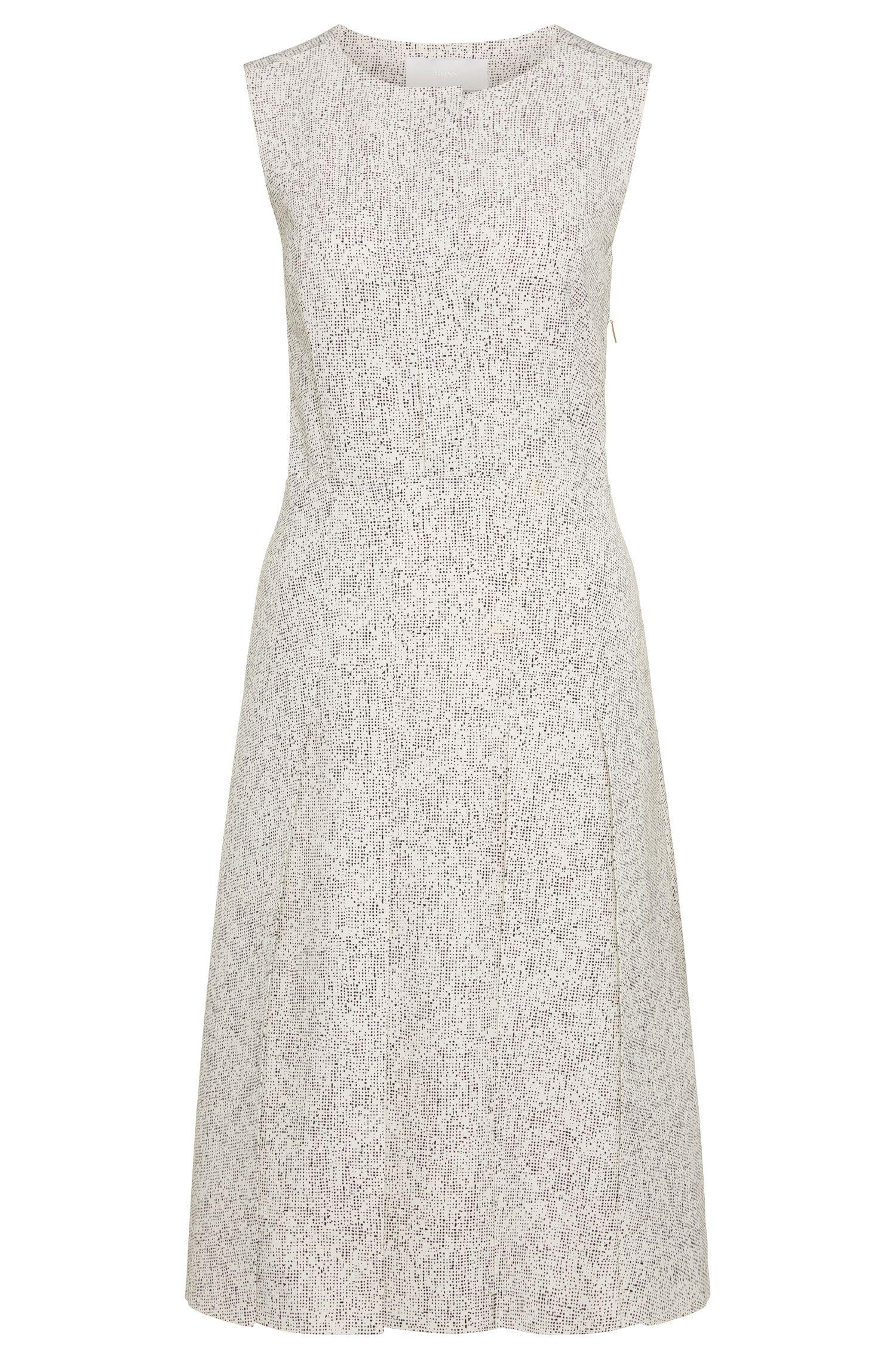 Ärmelloses Kleid mit Punkte-Muster: 'Helicia'