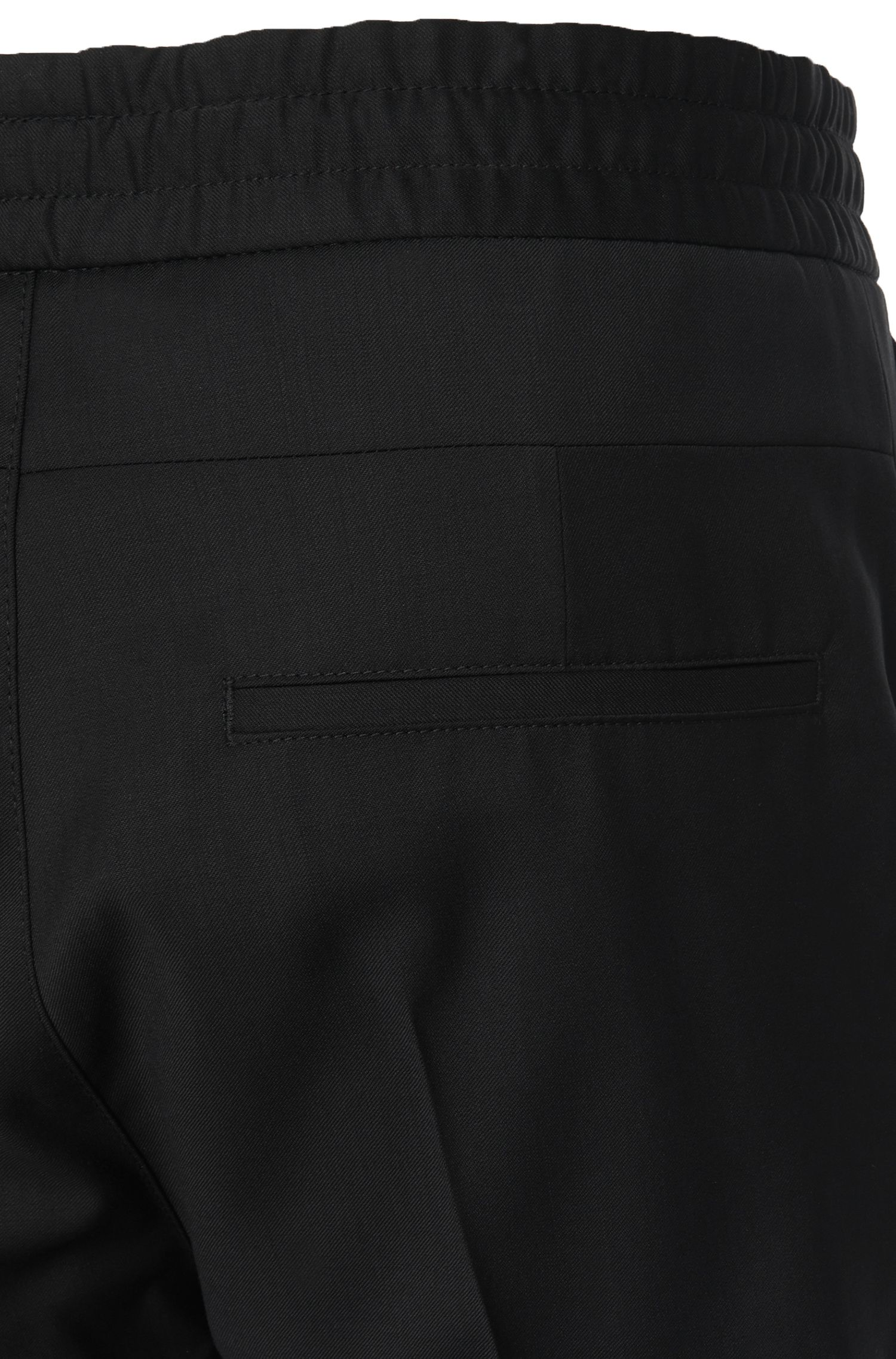 Chino Tapered Fit en laine vierge : « Himesh2 »