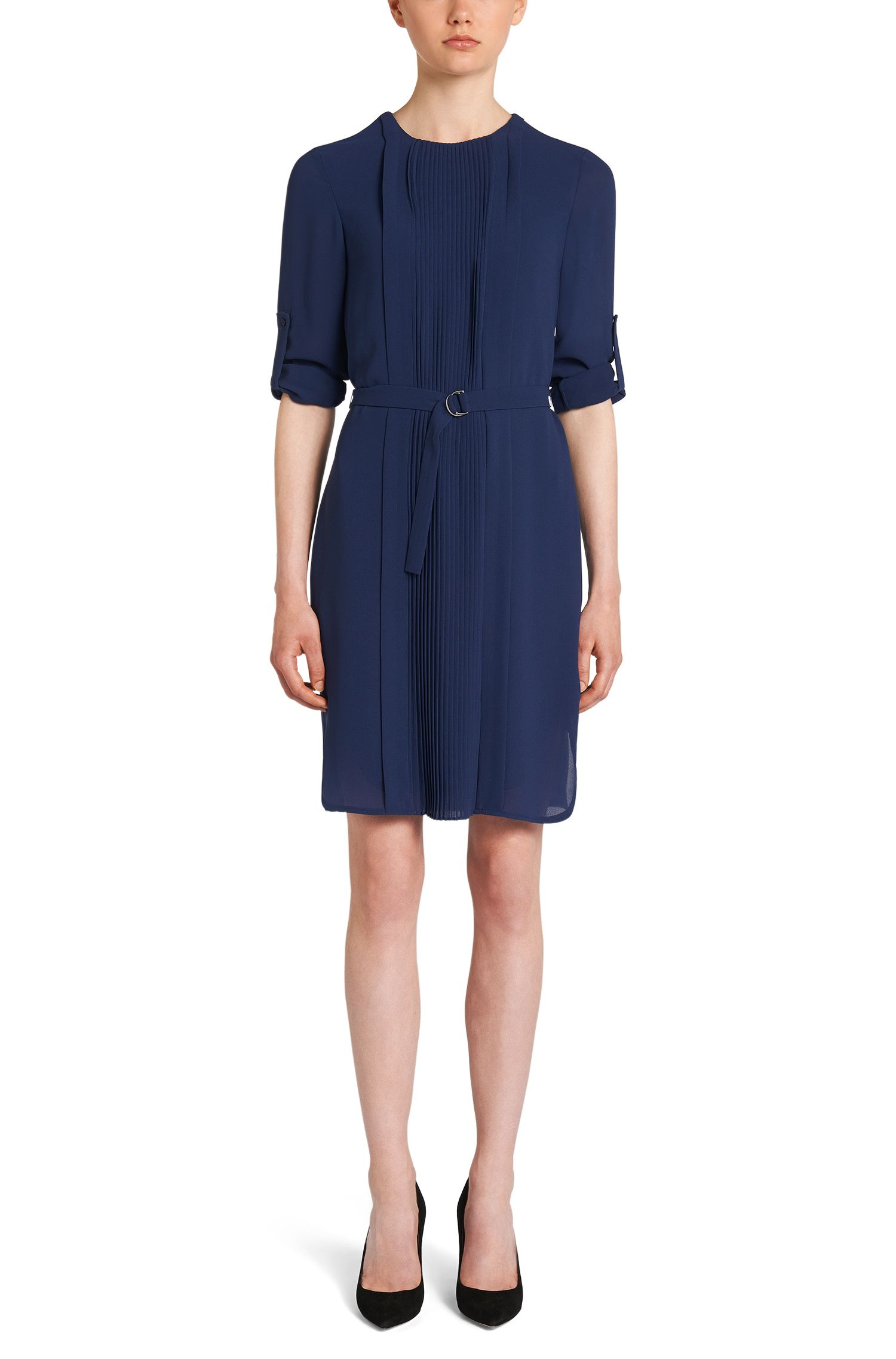 Kleid mit Plissee-Einsatz: 'Dineana'