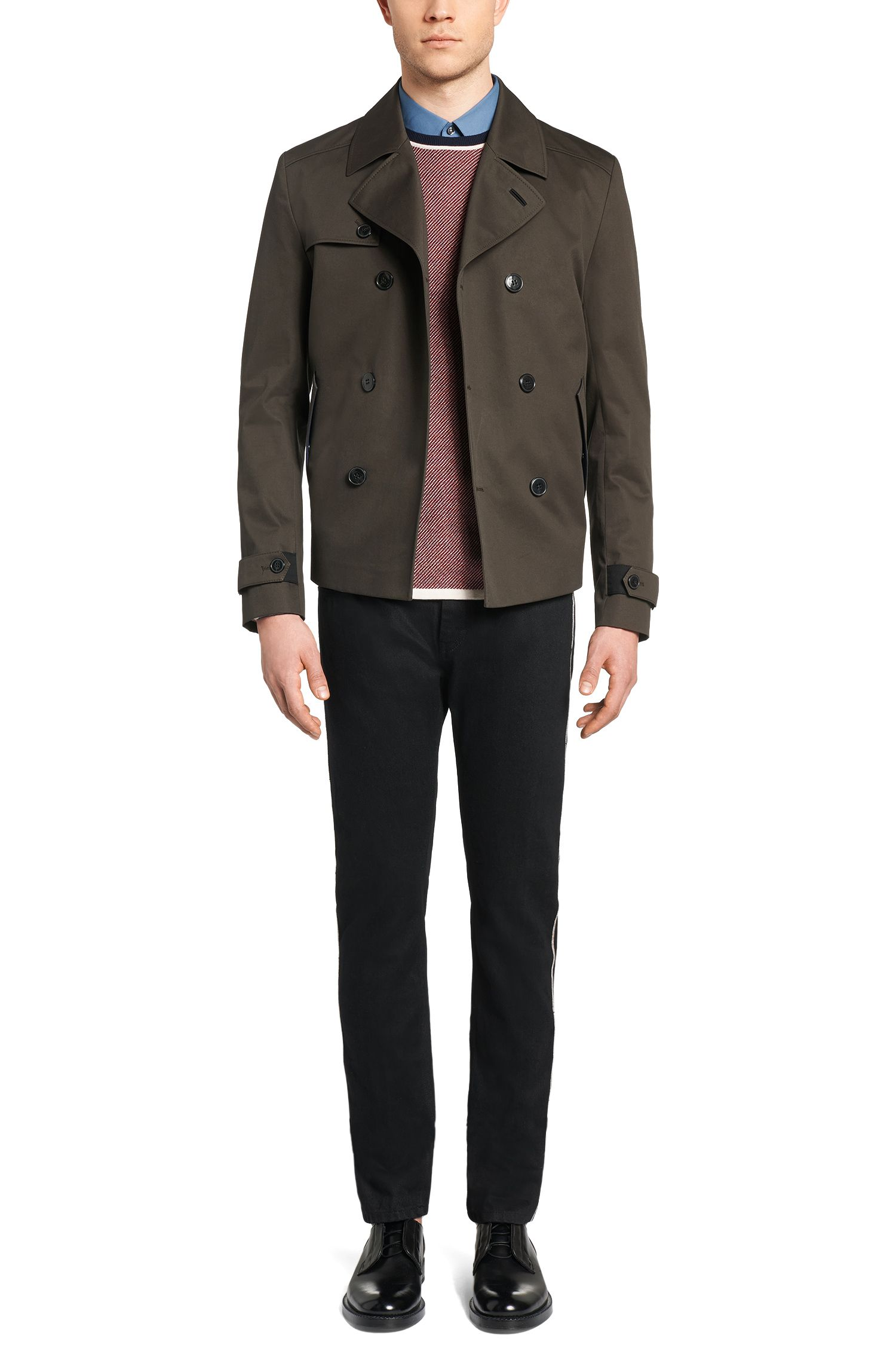 Jeans Slim Fit en coton: «HUGO 733/RS»