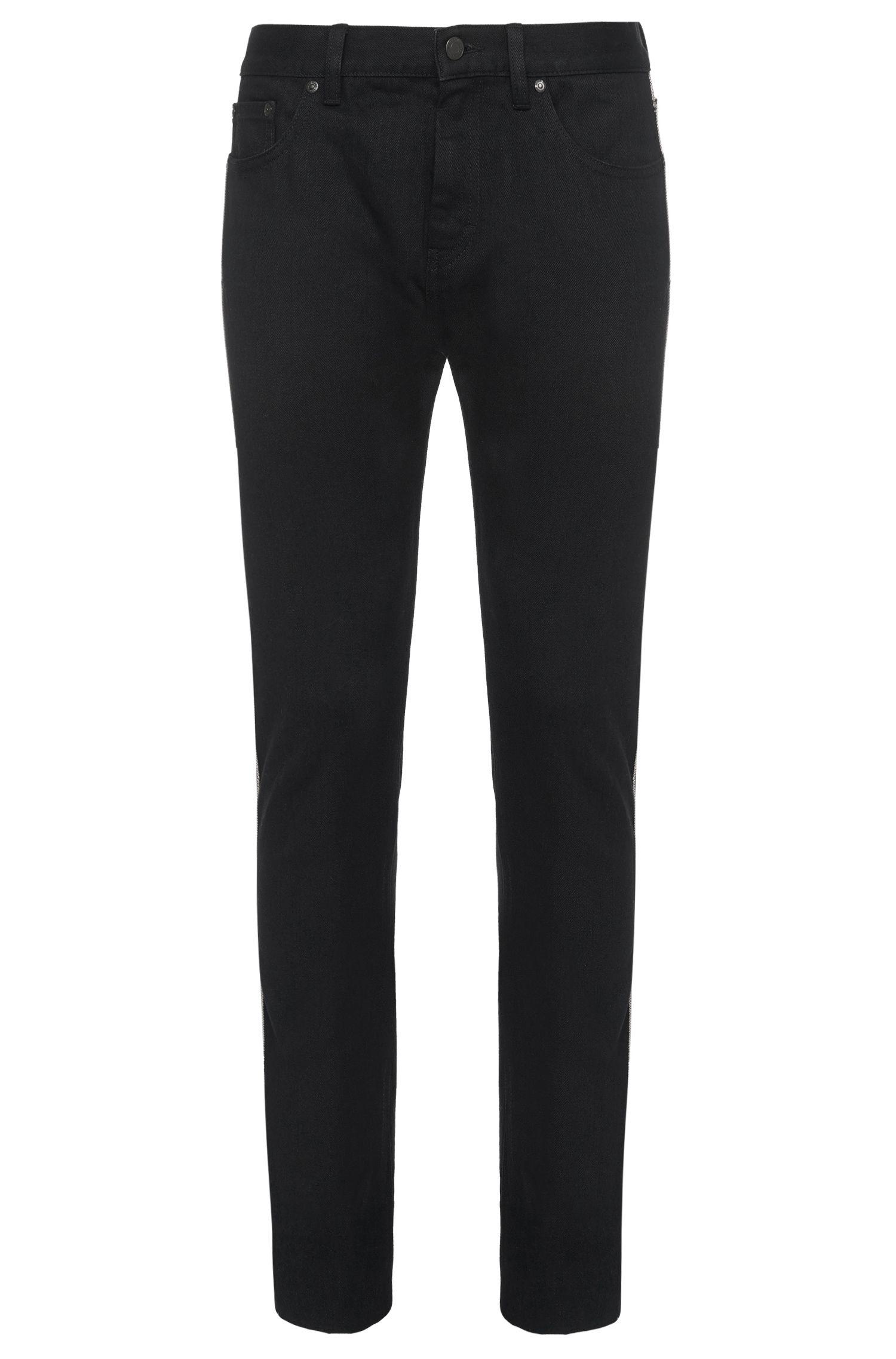 Slim-fit jeans van katoen: 'HUGO 733/RS'