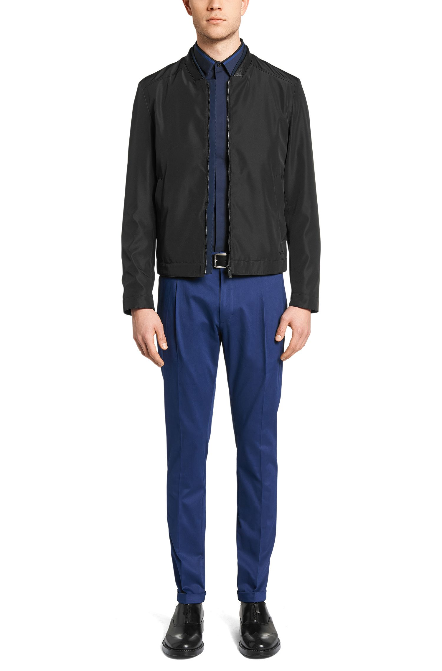 Regular-Fit Jacke aus wasserabweisendem Material: 'Balkin'