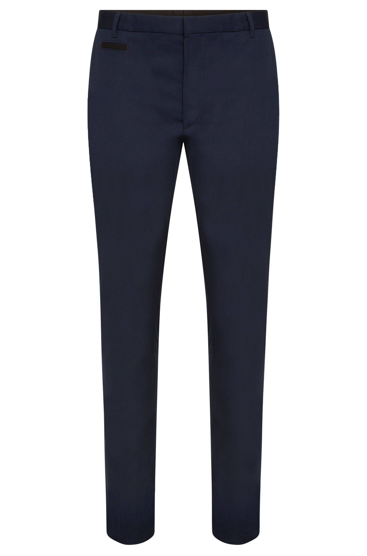 Chino Slim Fit en coton stretch : « Heralt »