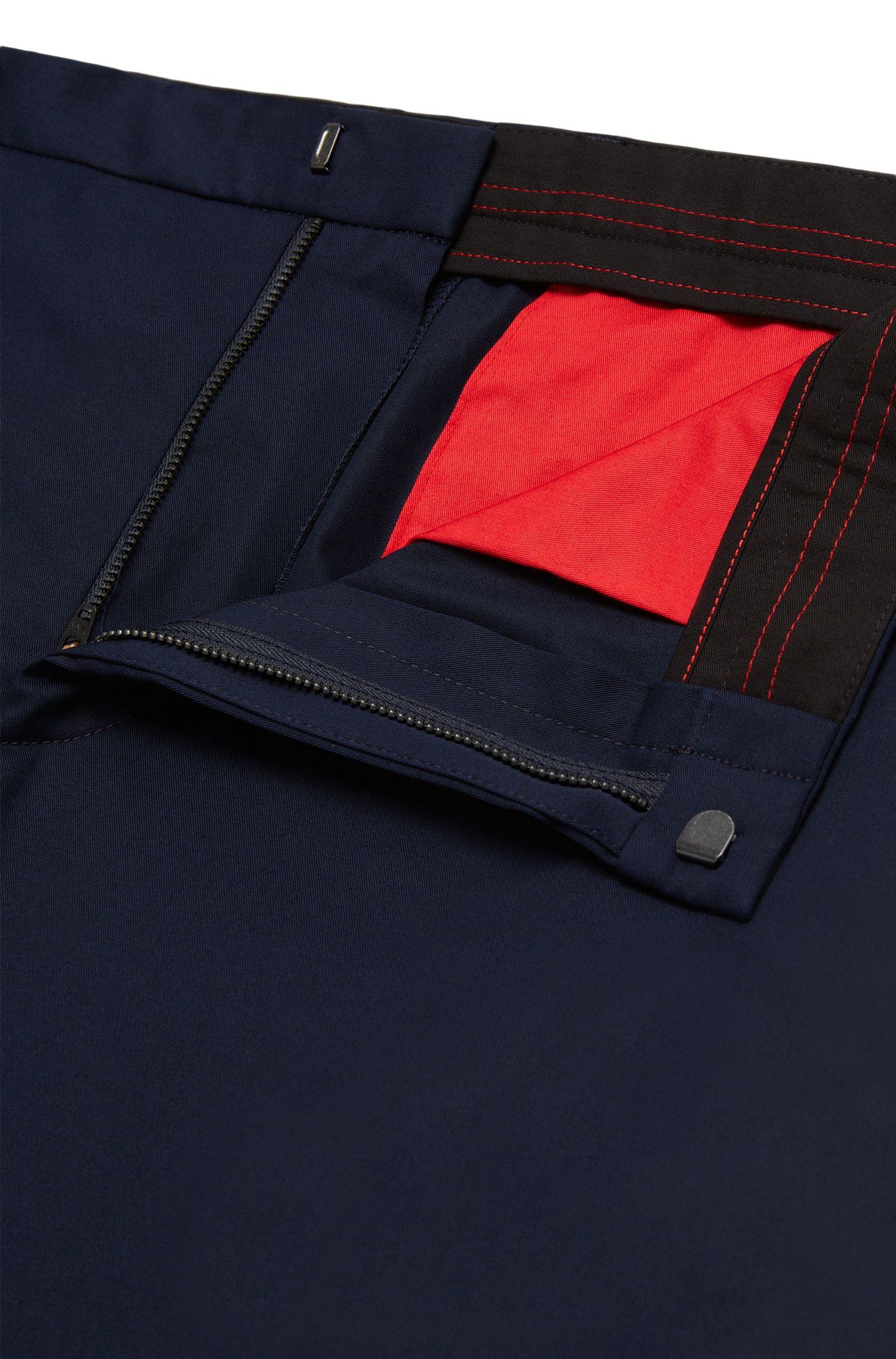 Chino Slim Fit en coton stretch: «Heralt»